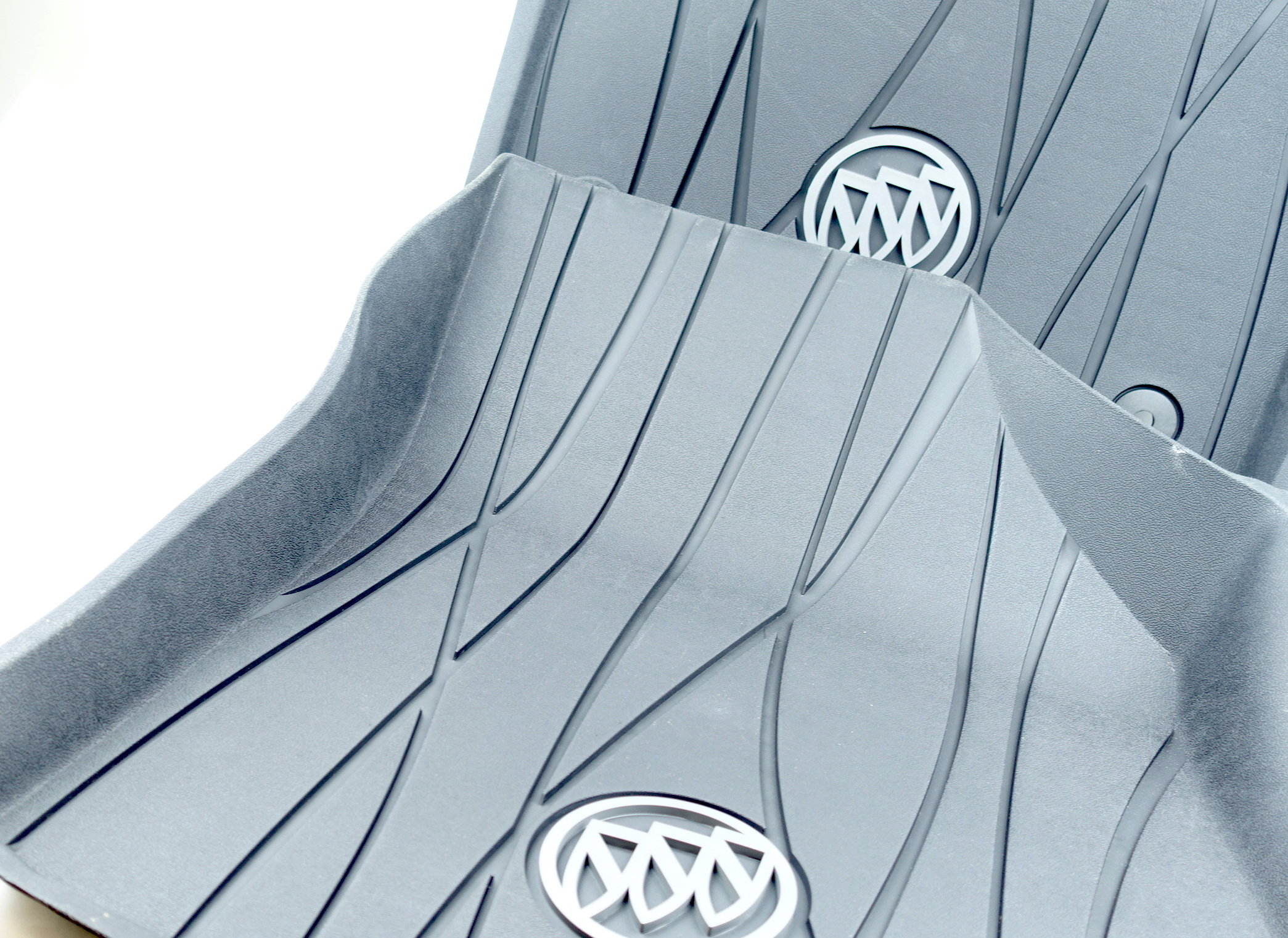 New OEM 84359483 GM 18-21 Buick Enclave Full Coverage Front Black Floor Liners - image 10