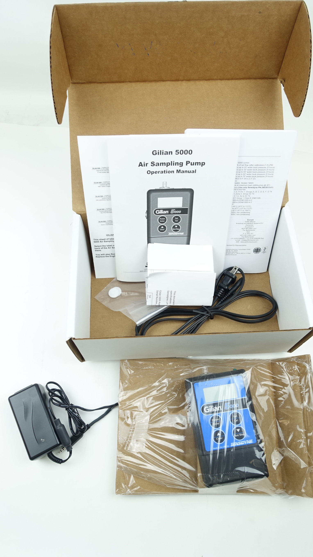New Sensidyne Gilian 5000 Air Sampling Pump Kit Fast Free Shipping Free Shipping - image 5