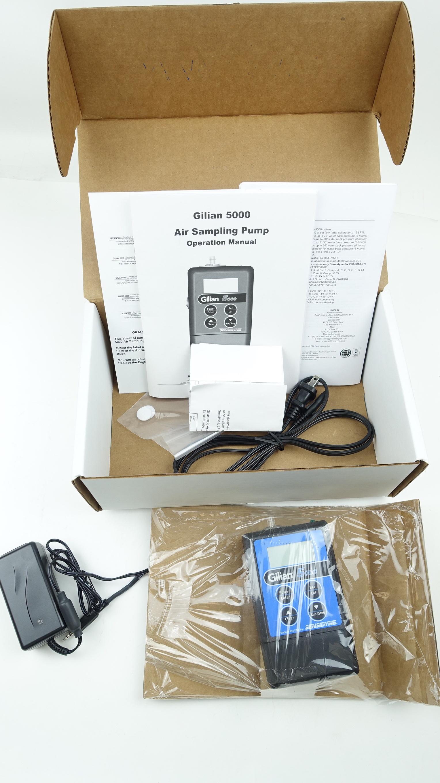 New Sensidyne Gilian 5000 Air Sampling Pump Kit Fast Free Shipping Free Shipping - image 10