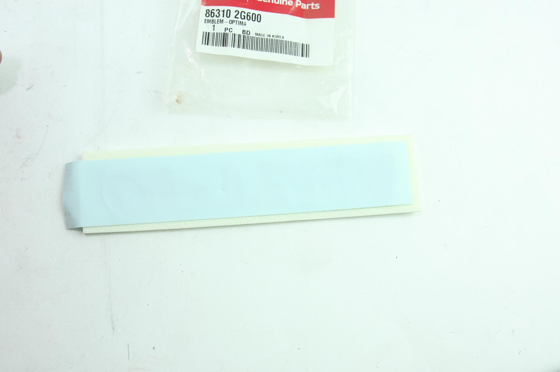 ** Genuine Kia Emblem OPTIMA Chrome Nameplate New OEM 86310-2G600 Free Shipping - image 5