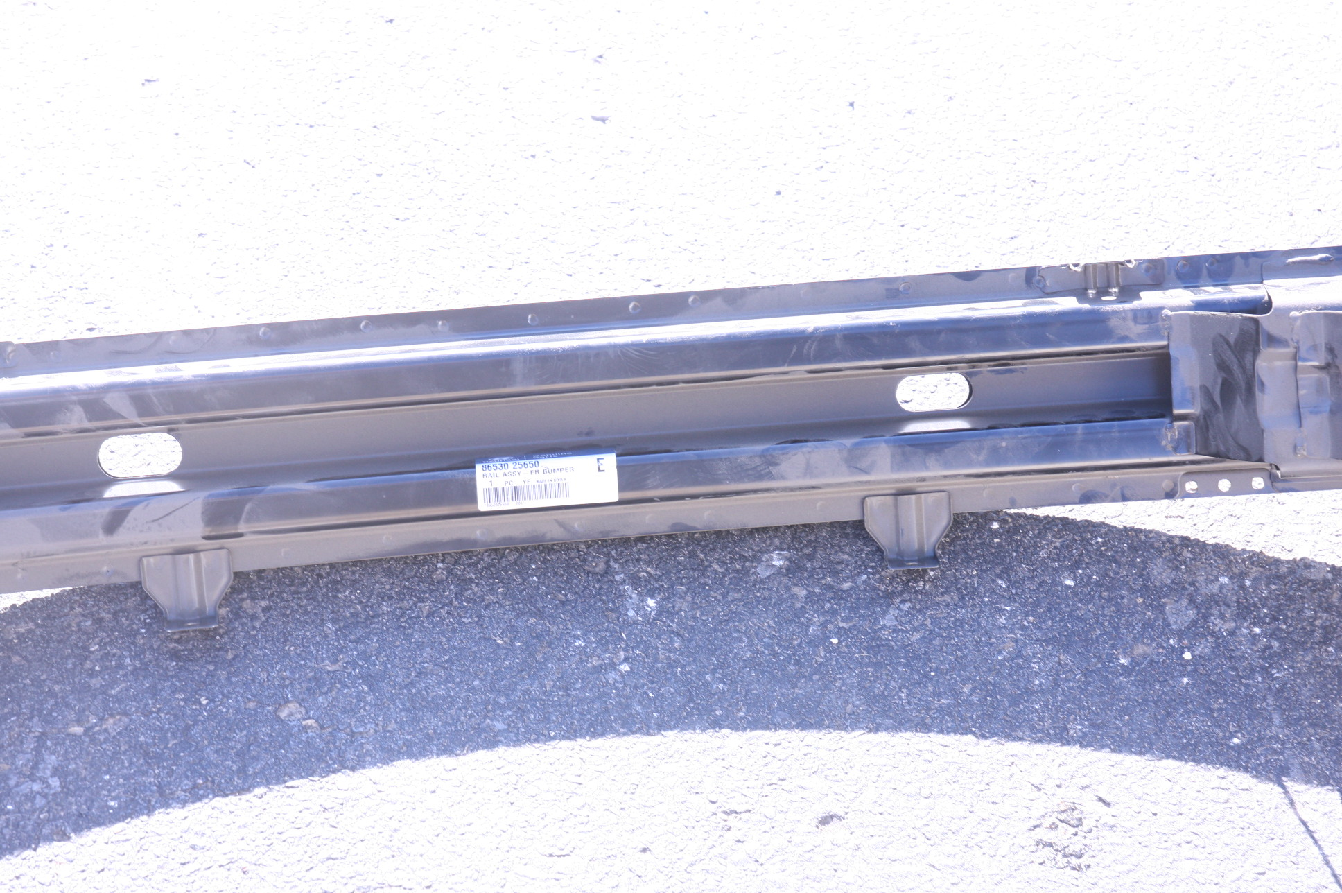 ~New OEM Hyundai 8653025650 Bumper Face Bar Reinforcement Free Shipping - image 4