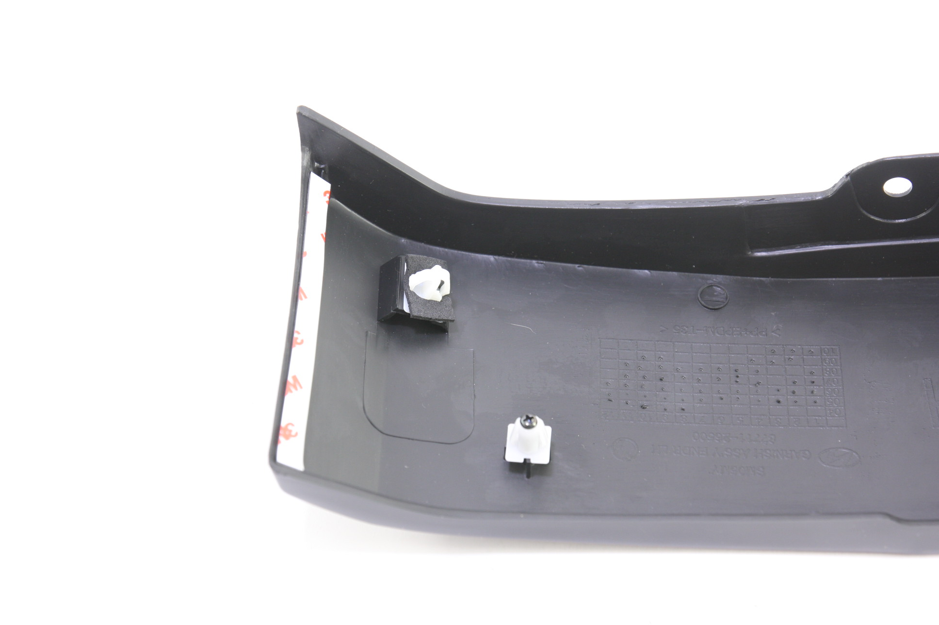 *~ New OEM Hyundai 8771126500 Front LH Exterior Fender Moulding 05-06 Santa Fe - image 7