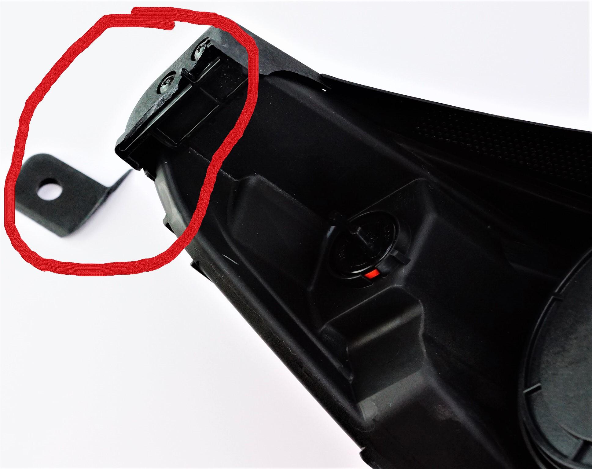 New Genuine OEM 92101-B2050 Driver Side Left Kia Headlight Assembly Damaged - image 3