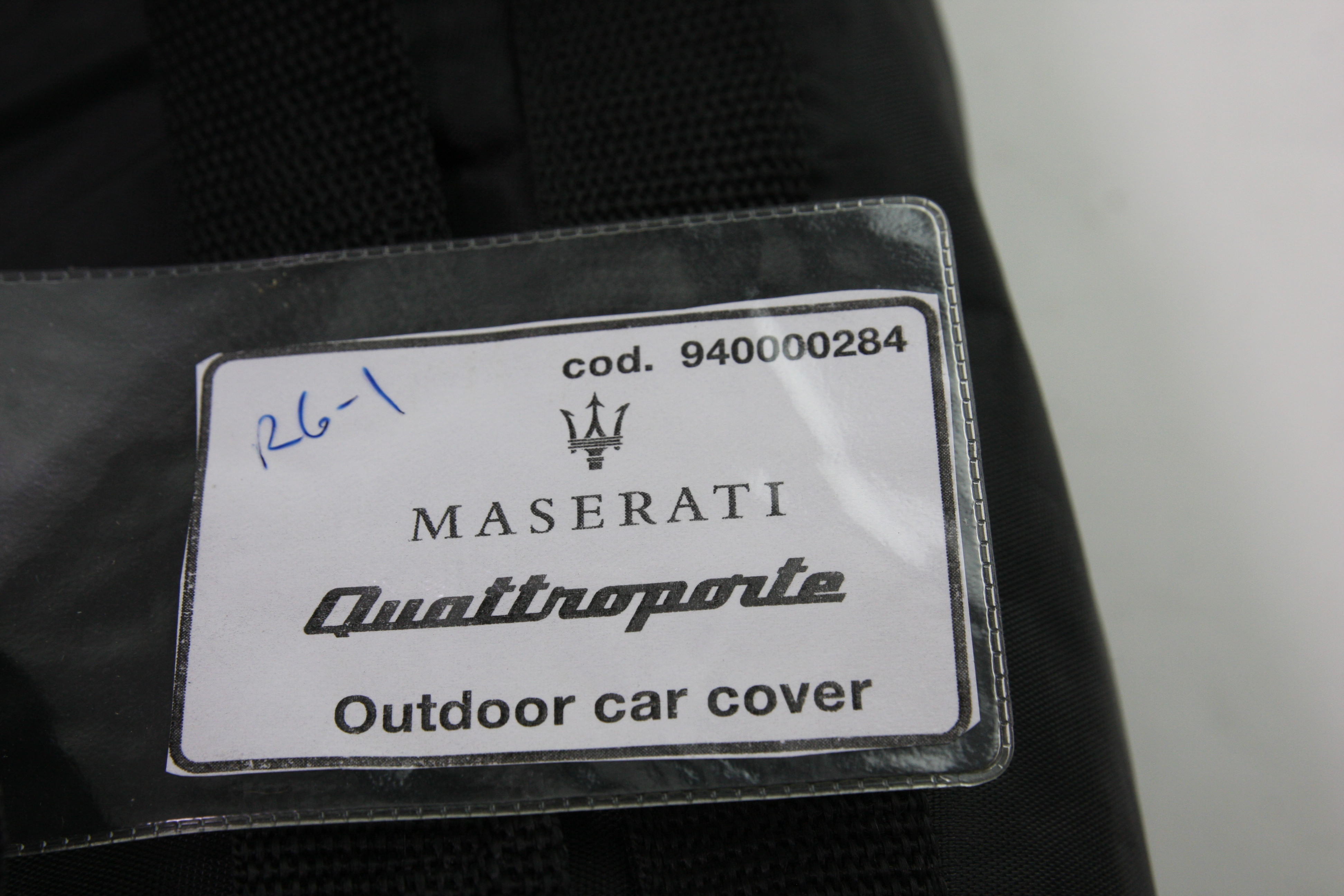 New OEM 940000284 Genuine Maserati Quattroporte Outdoor Car Cover Free Shipping - image 2
