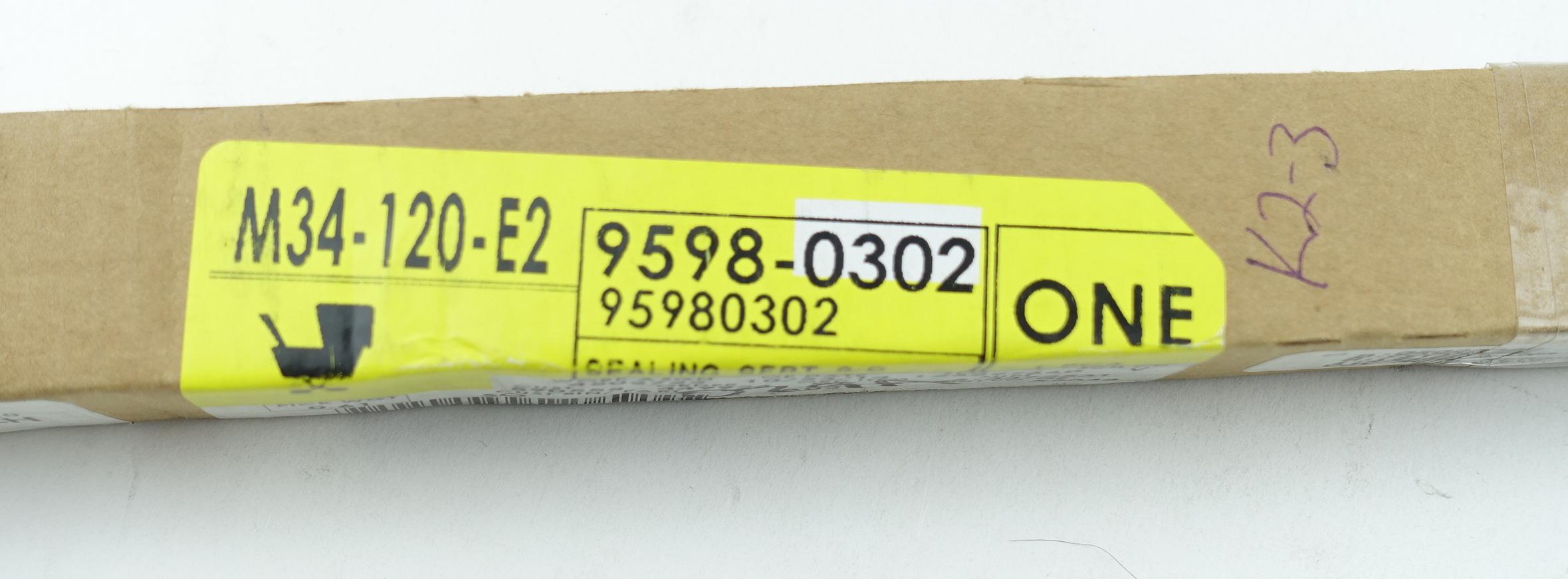 New OEM 95980302 GM Front Door Window Sweep Belt Molding Weatherstrip Left - image 4