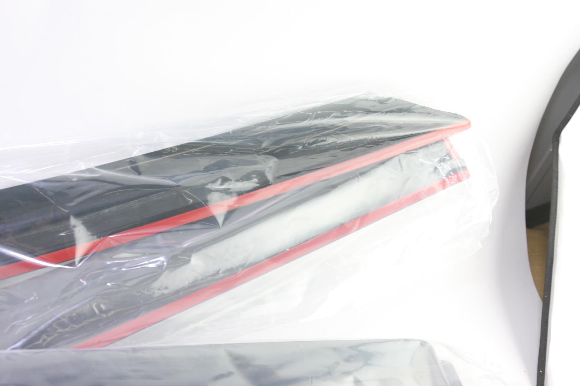 ** New OEM Ford 9A8Z18246A 09-17 Flex Smoke Side Window Deflector 4-pc Kit NIP - image 4