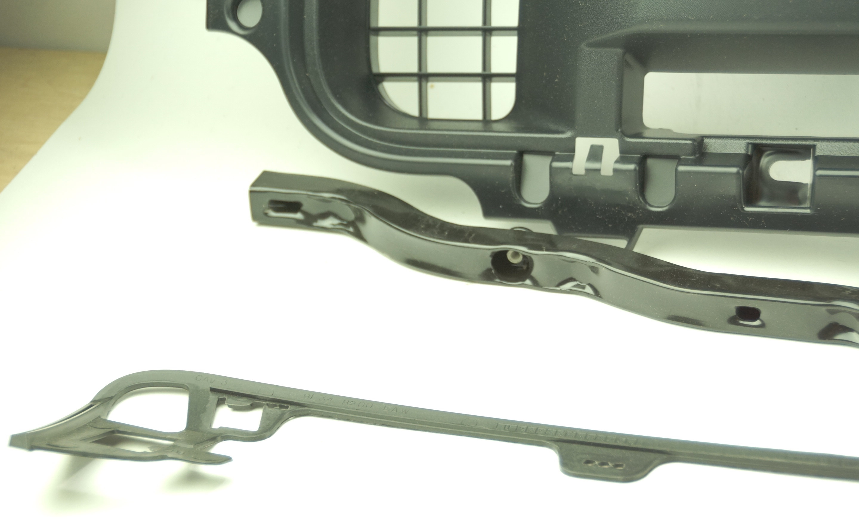 New OEM 9L3Z8200BPTM Ford 09-14 F-150 Grille Insert Gray Shell Textured Black - image 10