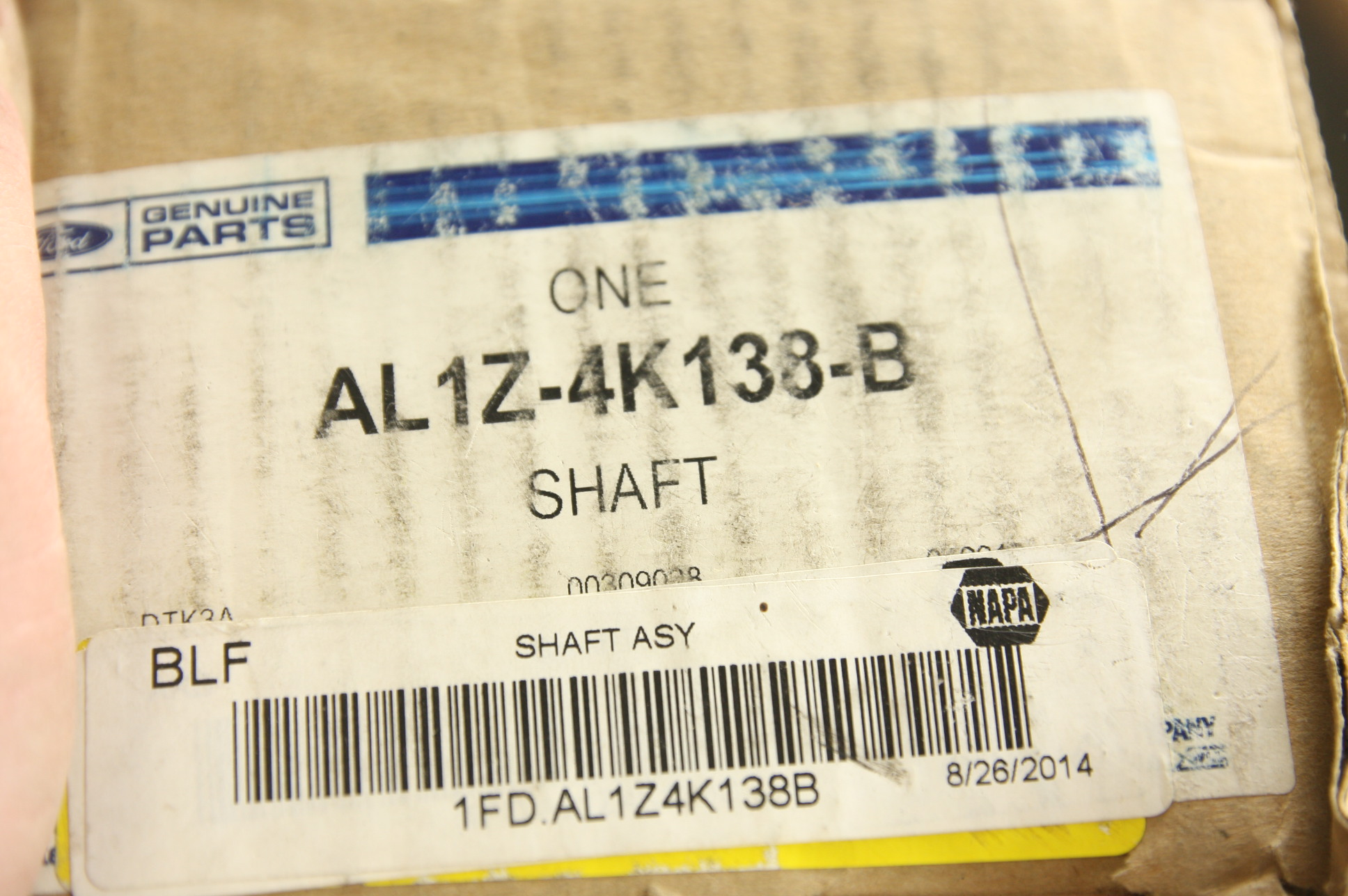 *~ New OEM AL1Z4K138B Ford Rear Axle Assembly CV Shaft Fast Free Shipping - image 7