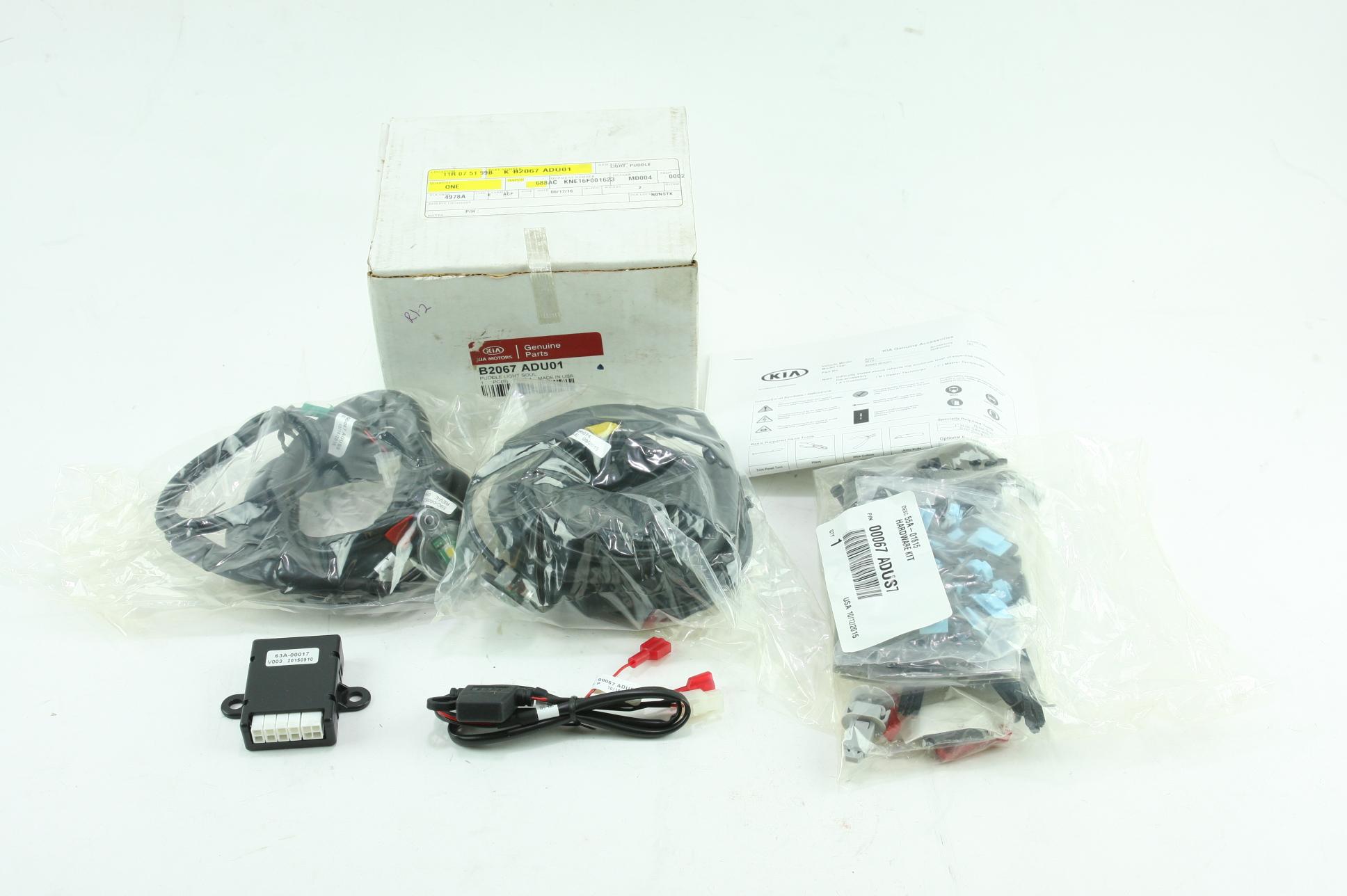 ** Genuine Kia 14-19 Soul Exterior LED Lighting Kit New OEM Packaging B2067ADU01 - image 1