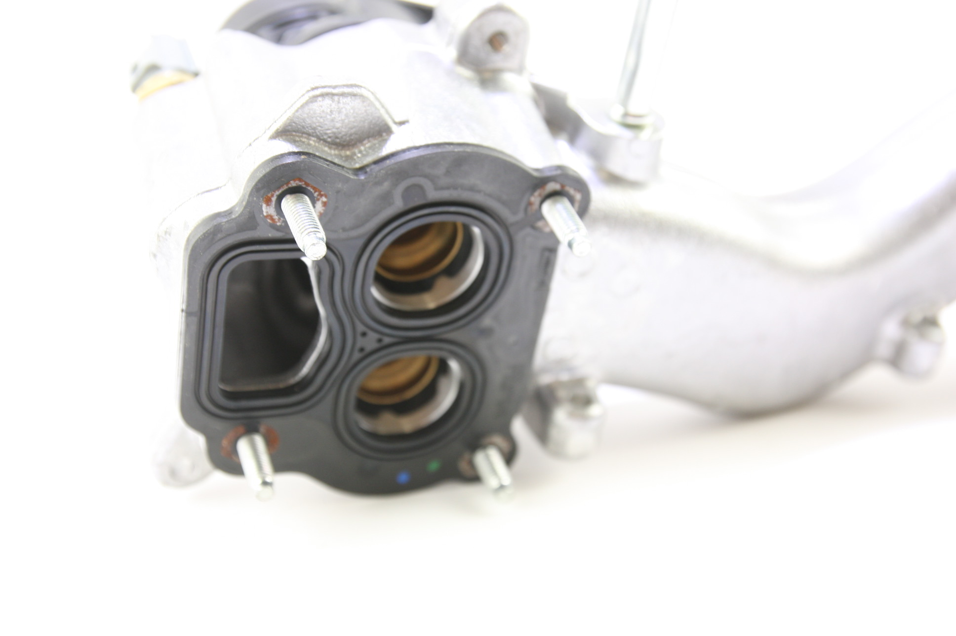 ~ New OEM BC3Z8C368B Ford 11-17 Super Duty Engine Coolant Thermostat Housing - image 10
