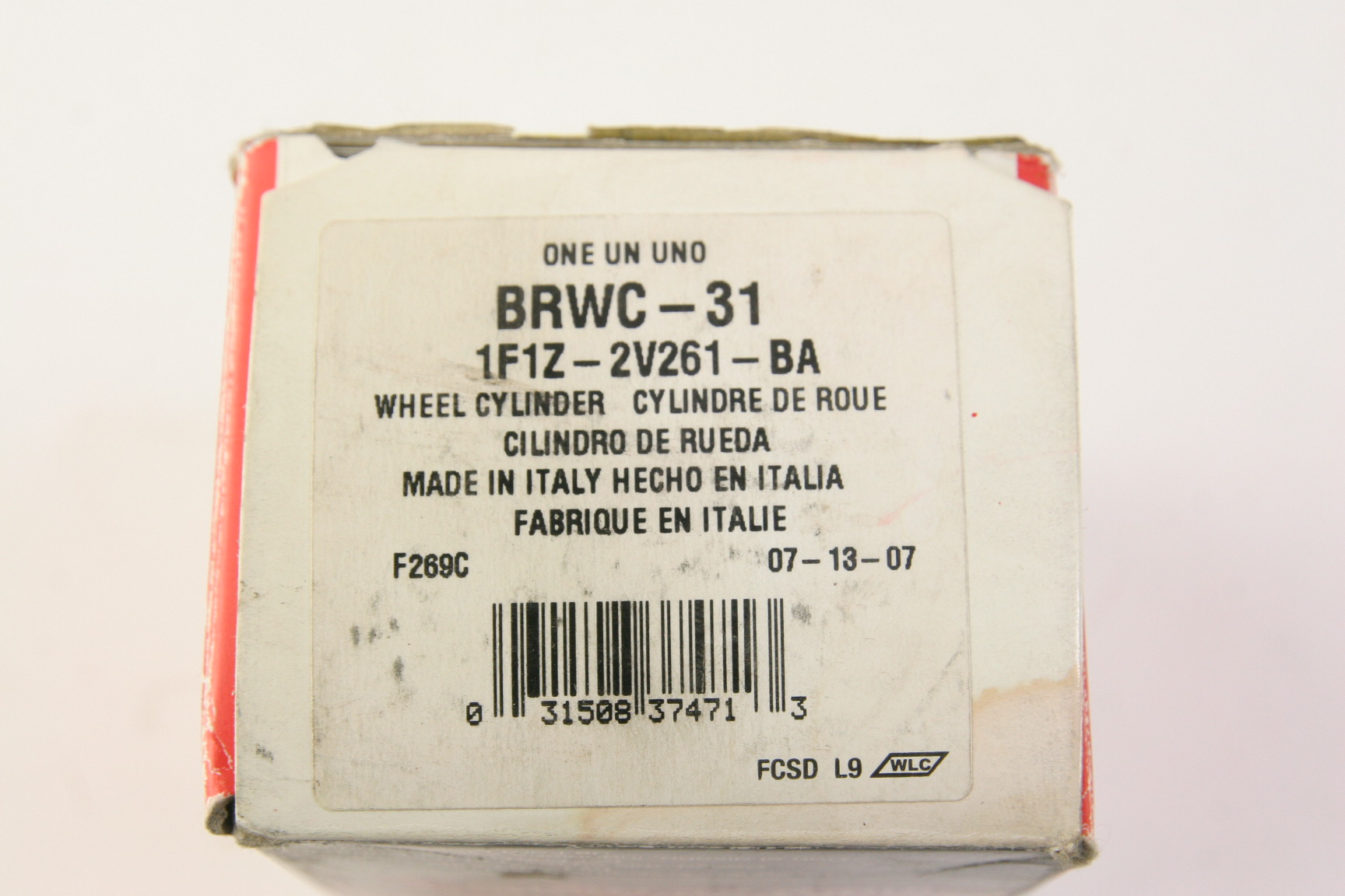 **** New OEM Motorcraft BRWC31 Ford 1F1Z2V261BA Rear Brake Cylinder - image 2