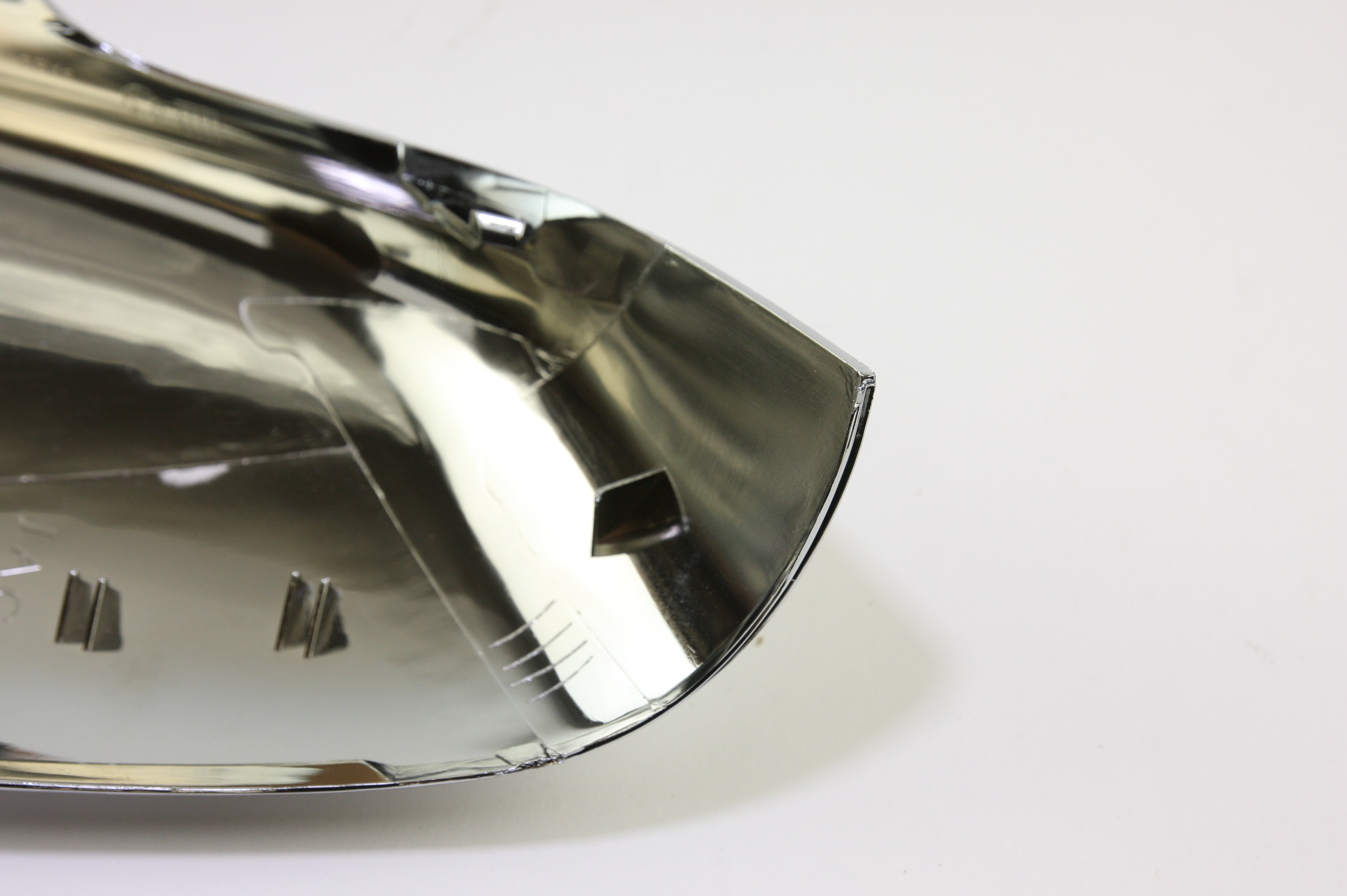 * New OEM C2D5489 Genuine Jaguar Driver Left Side Door Mirror Back Cover Chrome - image 5