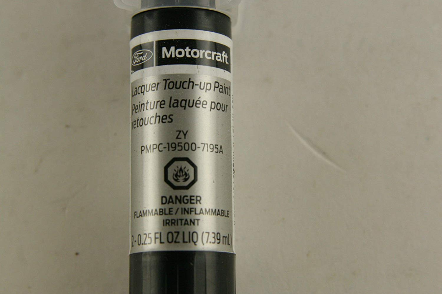 Genuine OEM Ford Motorcraft 7195A Touch Up Paint Pen Vapor Silver Code ZY NIP - image 4
