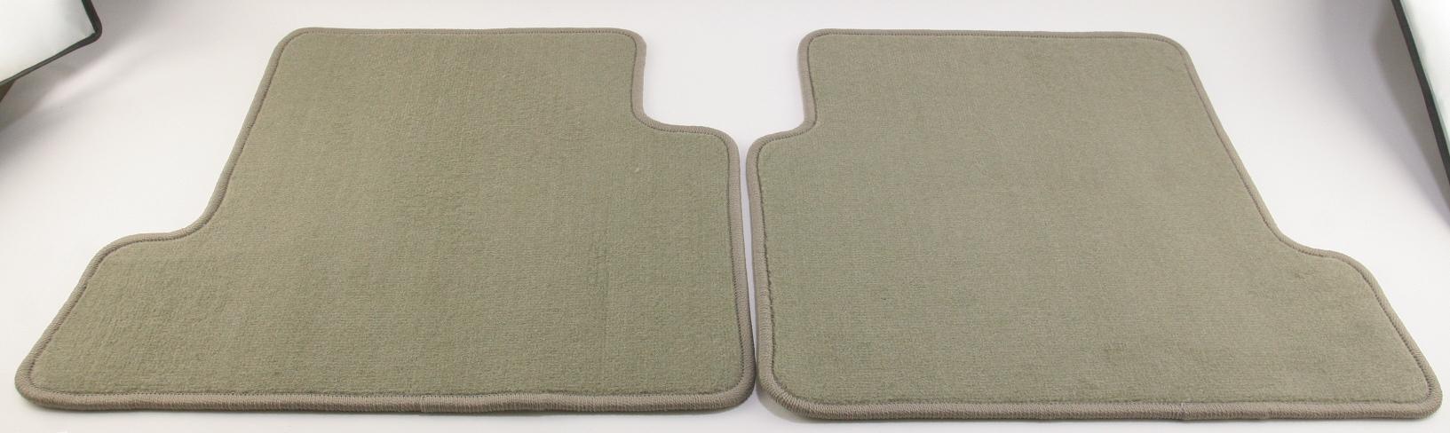 ***~ New OEM Ford CJ5Z7813106AA 13-16 Escape Carpet Rear Mats Medium Light Stone - image 1