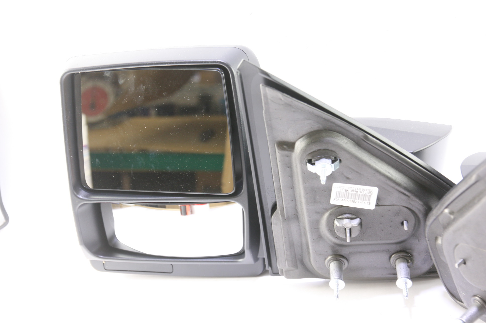 ***New OEM DL3Z17696AA Ford 05-14 F150 Manual Telescopic Trailer Tow Mirrors Set - image 3