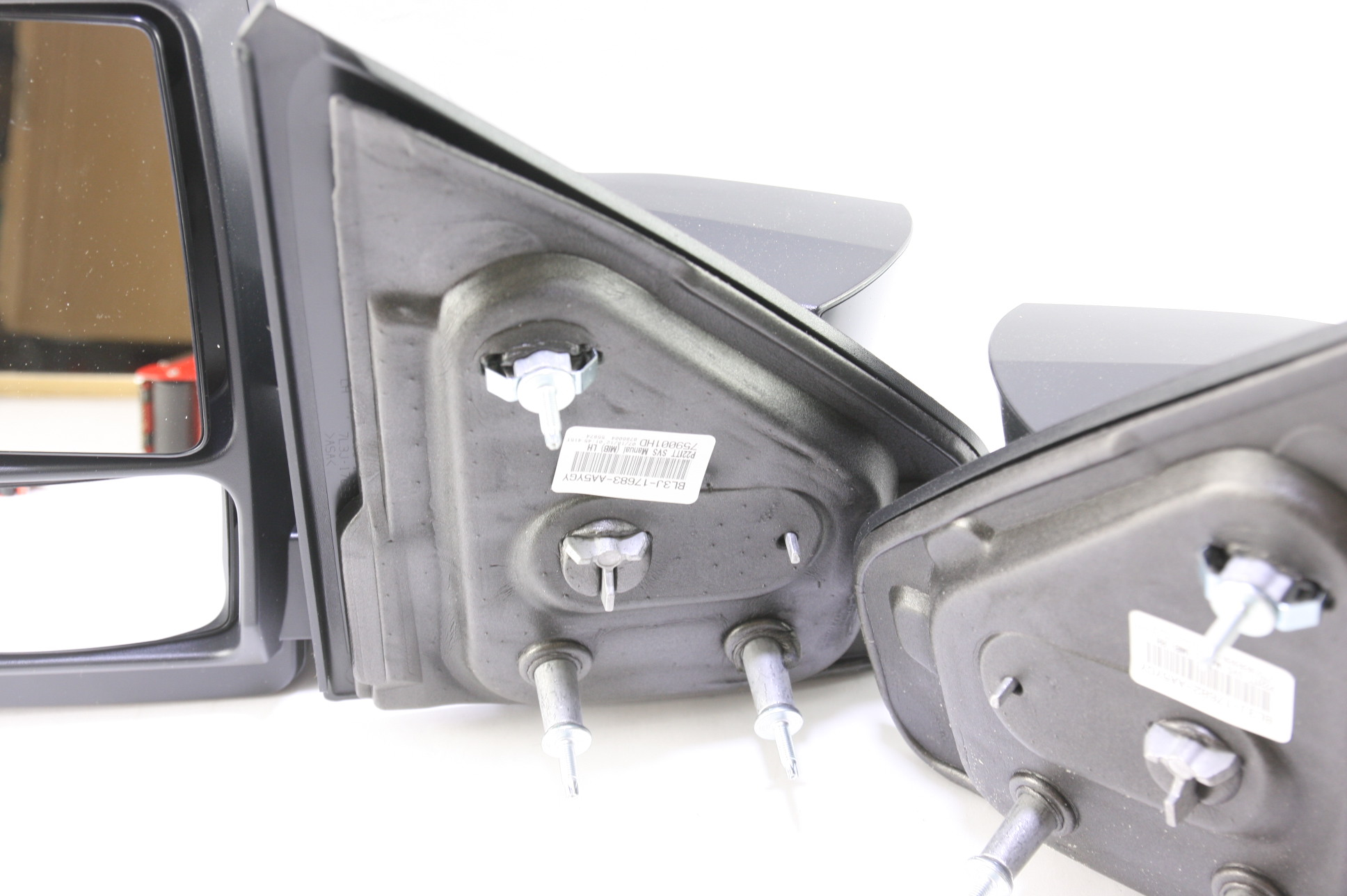 ***New OEM DL3Z17696AA Ford 05-14 F150 Manual Telescopic Trailer Tow Mirrors Set - image 6