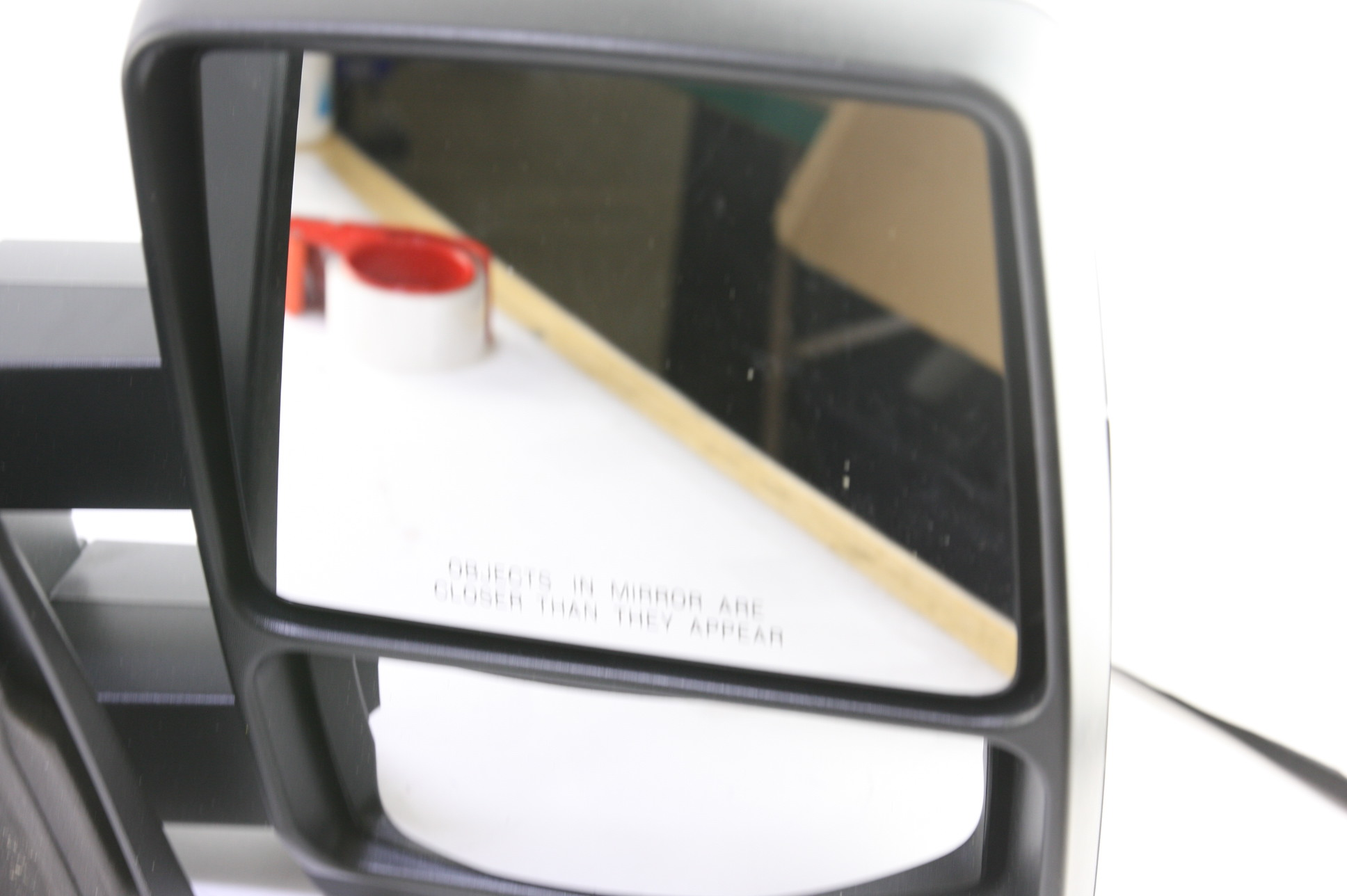 **New OEM DL3Z17696AA Ford 05-14 F-150 Manual Telescopic Trailer Tow Mirrors Set - image 9
