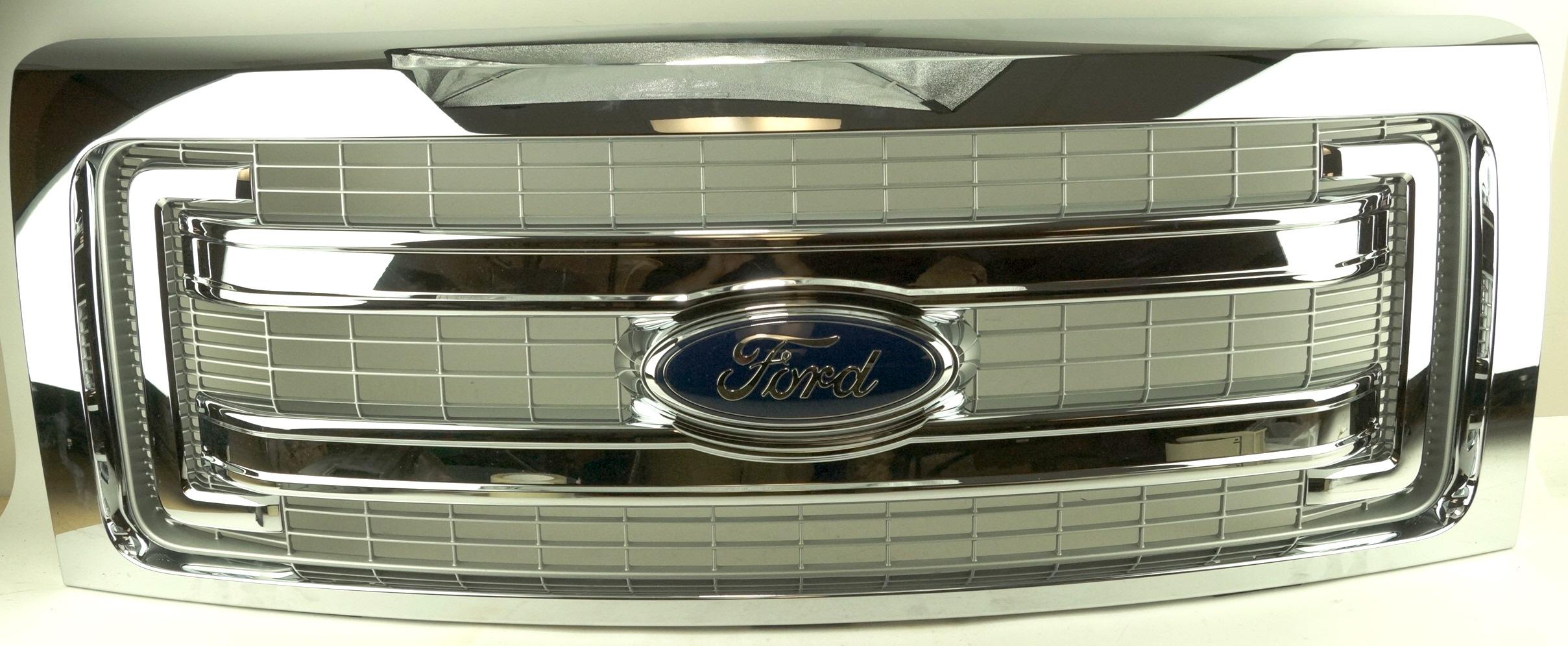 New Genuine OEM DL3Z8200BA Ford Front Grille Assembly w/ Emblem 09-14 F-150 XLT - image 1
