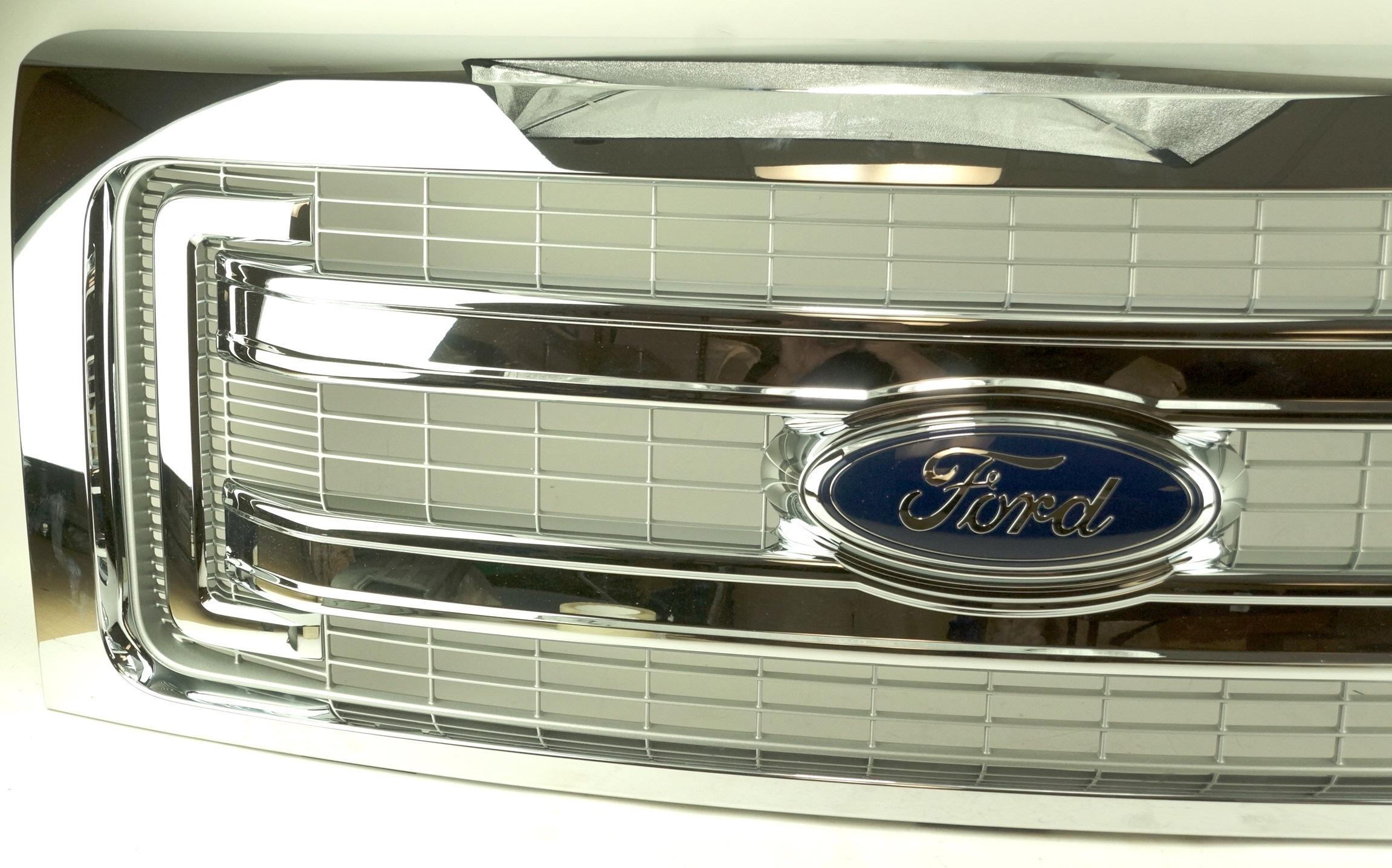 New Genuine OEM DL3Z8200BA Ford Front Grille Assembly w/ Emblem 09-14 F-150 XLT - image 2