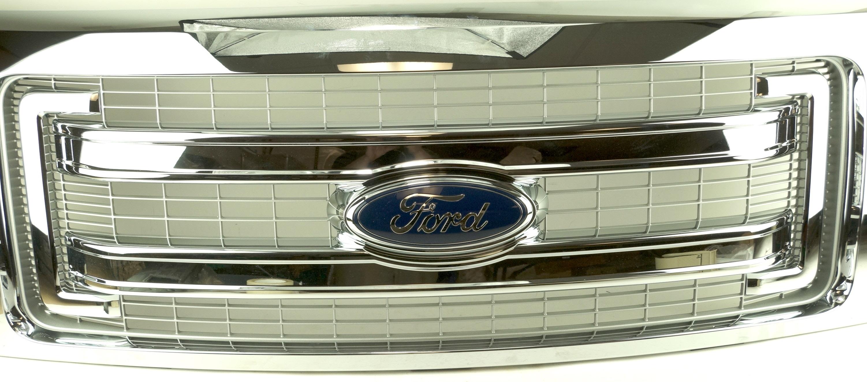 New Genuine OEM DL3Z8200BA Ford Front Grille Assembly w/ Emblem 09-14 F-150 XLT - image 3