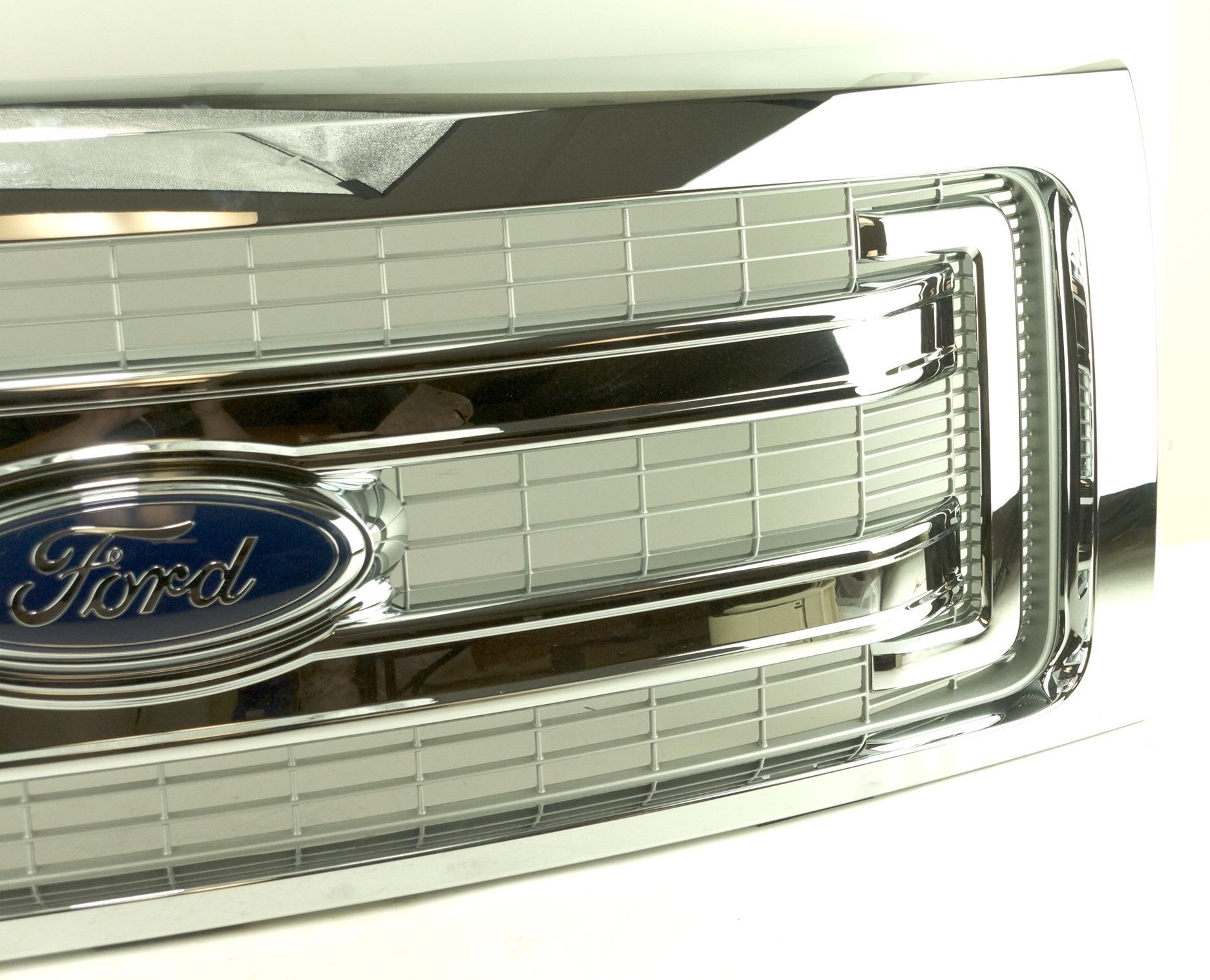 New Genuine OEM DL3Z8200BA Ford Front Grille Assembly w/ Emblem 09-14 F-150 XLT - image 6