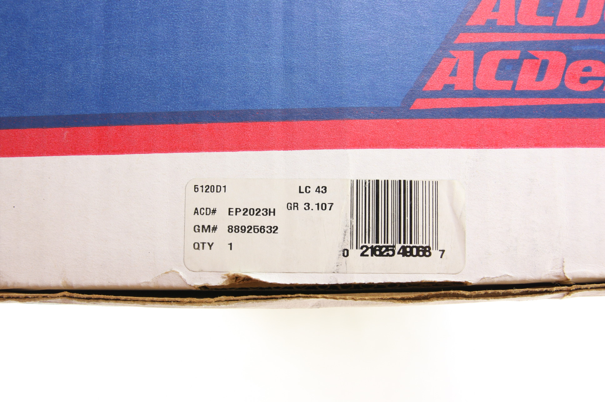 New Electric Fuel Pump Acdelco Ep2023h 88925632 Free Shipping Nip Gm