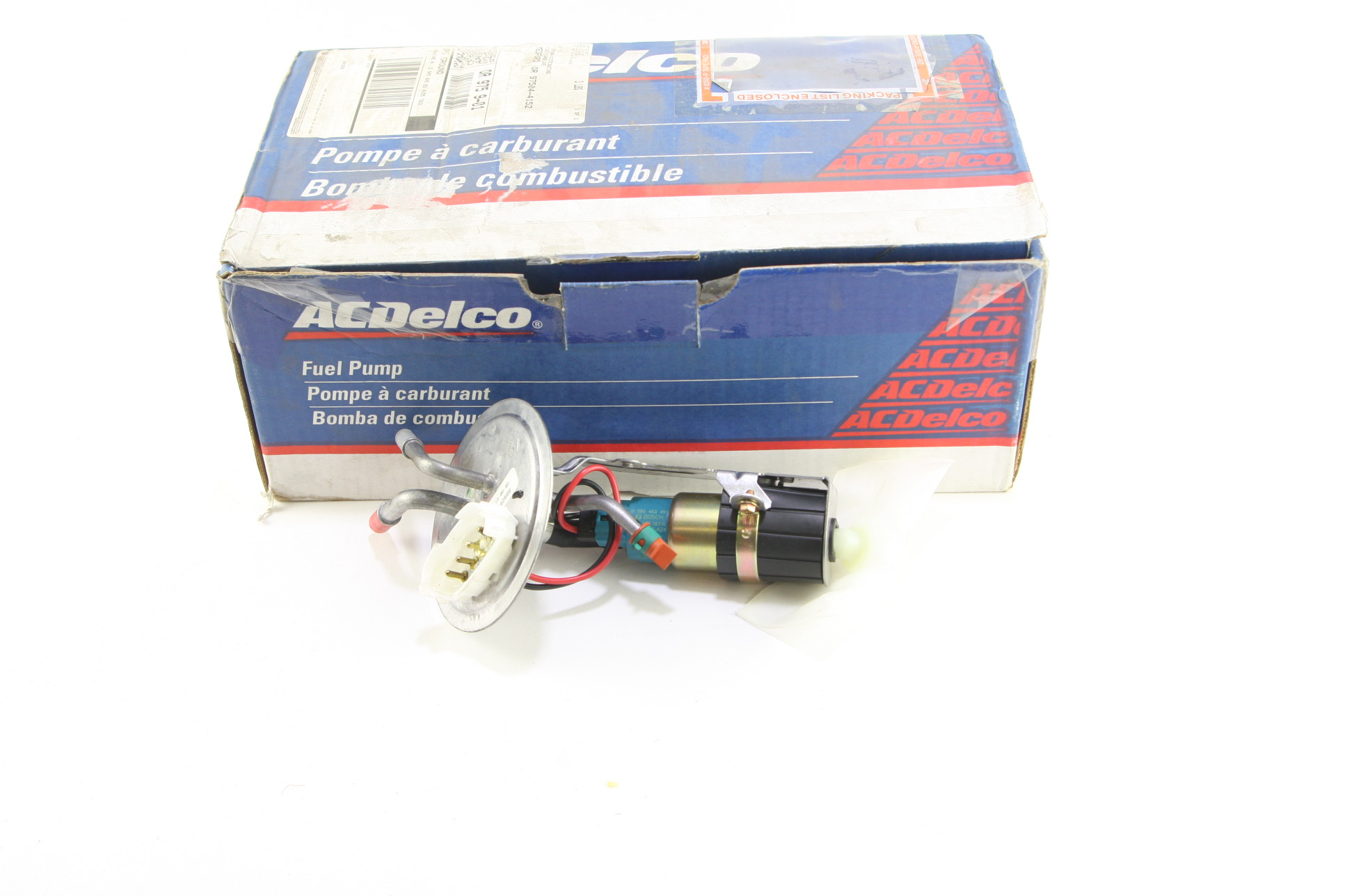 New Oem Acdelco Pro Ep2071h Electric Fuel Pump 88925724 With Installation Instructions Nip