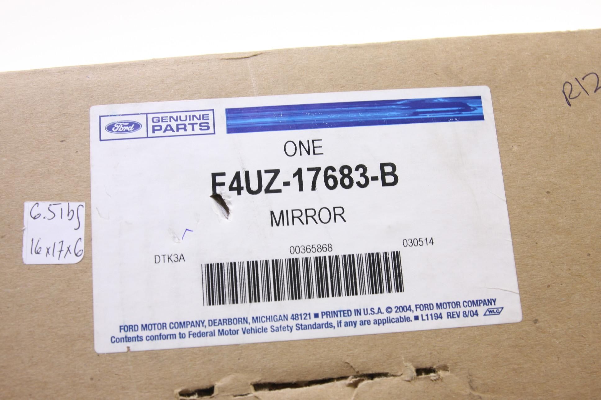 ** New OEM F4UZ17683B Ford Power Door Mirror Left E150 E250 Econoline 94-04 NIP - image 2