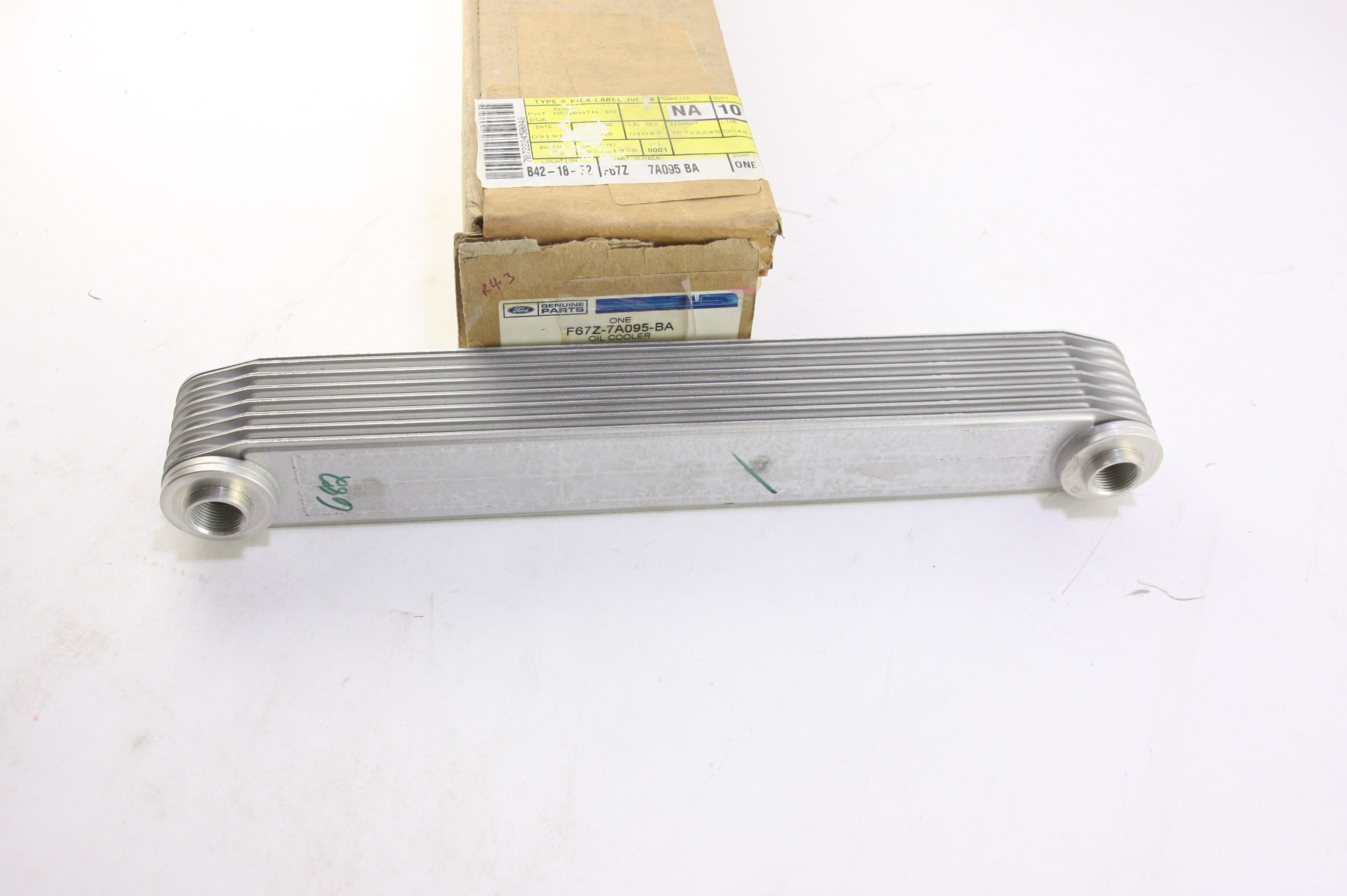 **** New Ford OEM F67Z7A095BA Auto Transmission Oil Cooler Fast Free  Shipping