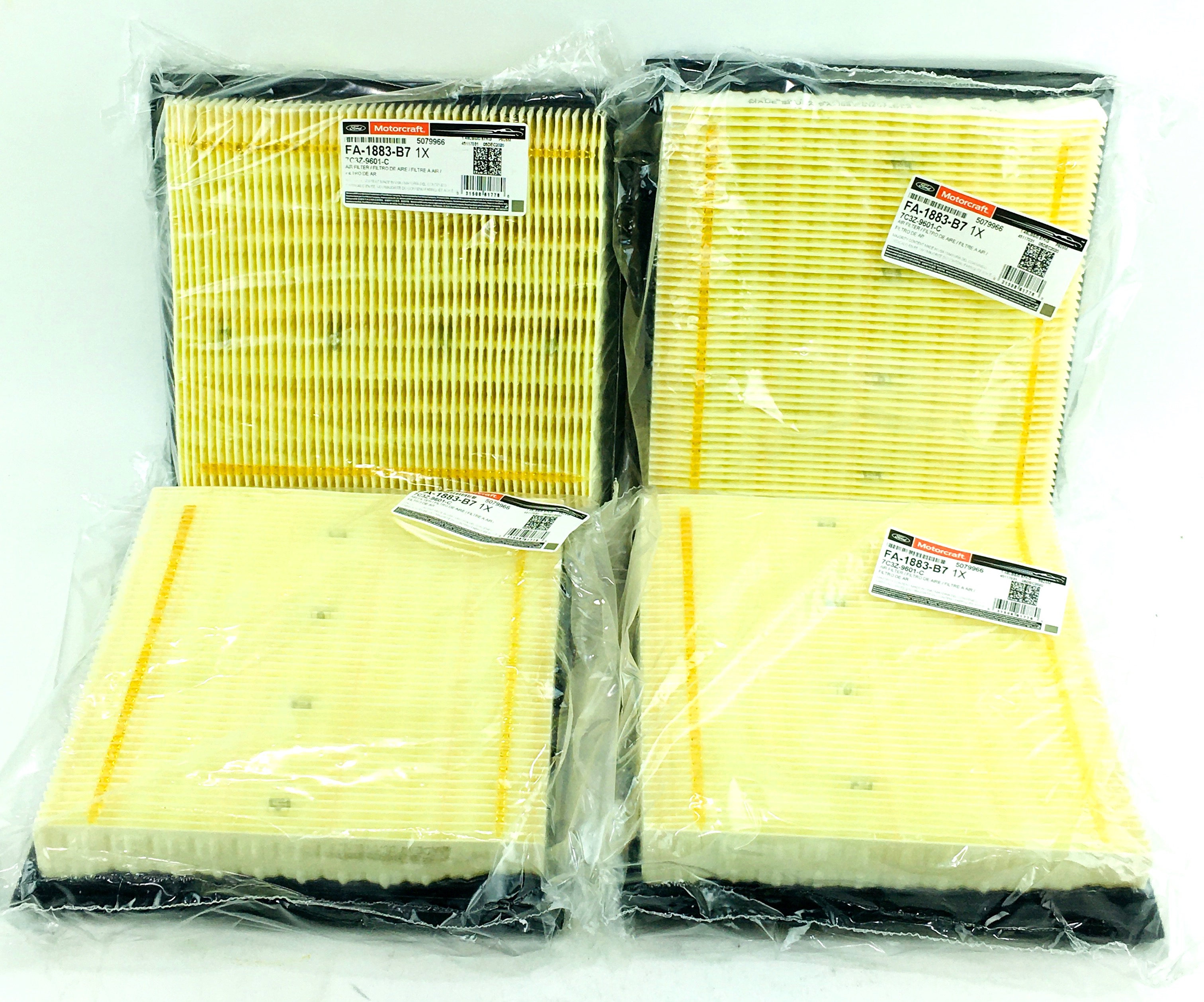 Genuine Ford Parts 7C3Z-9601-A Air Filter