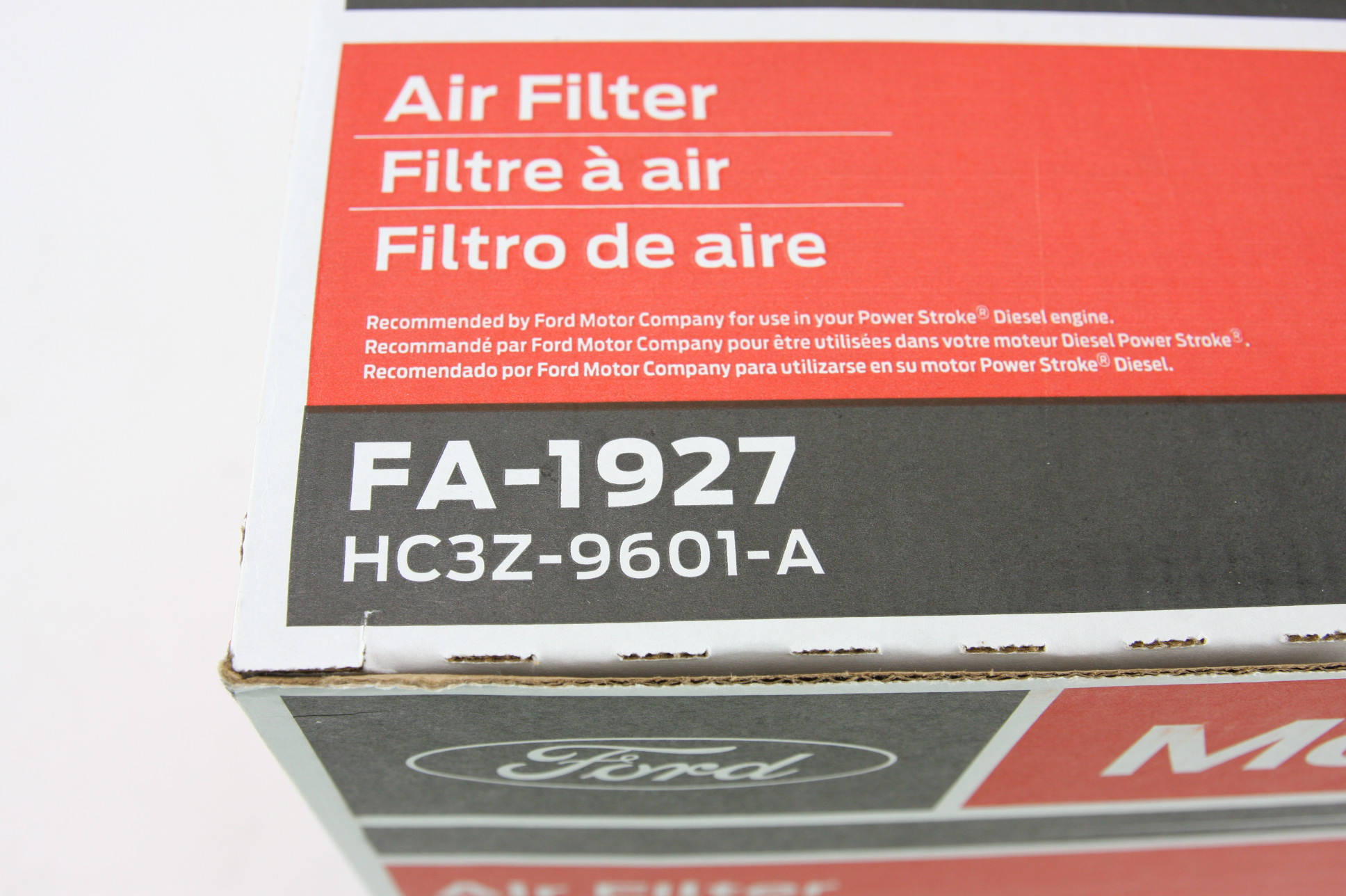 ** New OEM 2 Pack Motorcraft FA1927 Ford HC3Z9601A Powerstroke Diesel Air Filter - image 8
