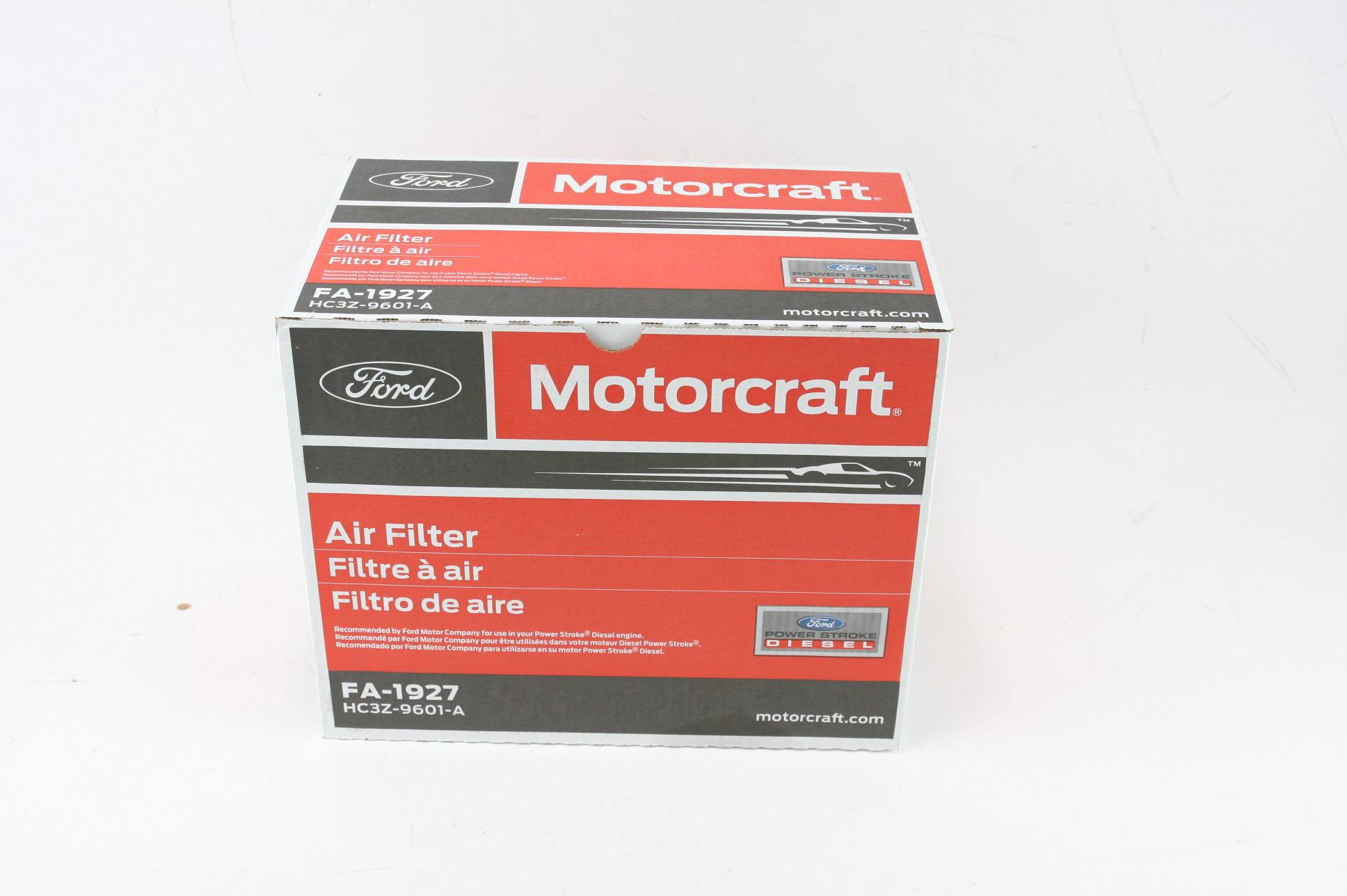 * New OEM 2 Pack Motorcraft FA1927 Ford HC3Z9601A Powerstroke Diesel Air Filter - image 9