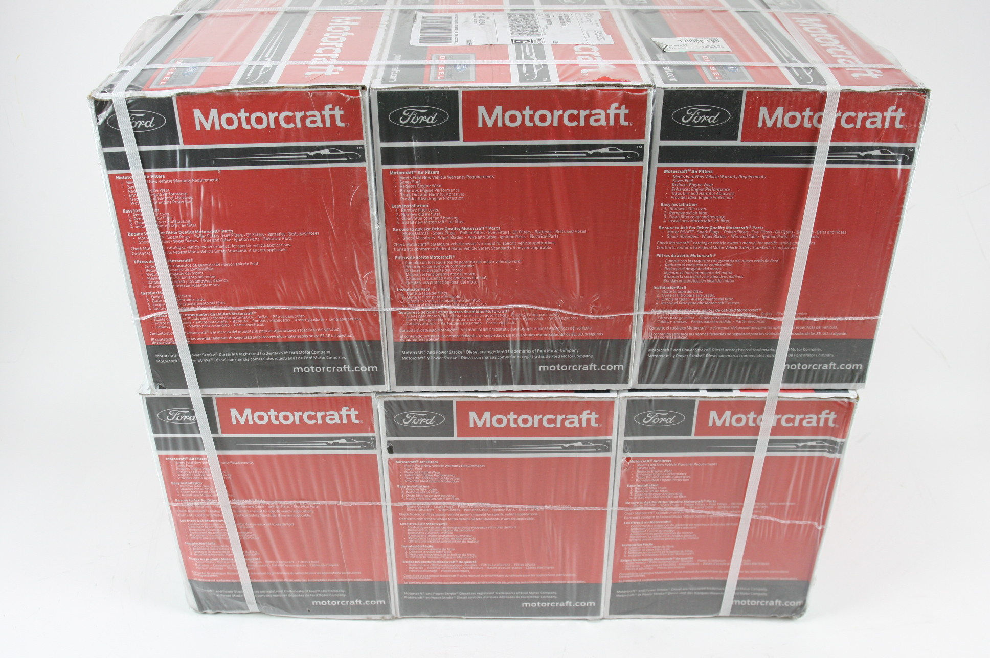 New OEM 6 Pack Motorcraft FA1927 Ford HC3Z9601A Powerstroke Diesel Air Filter - image 1