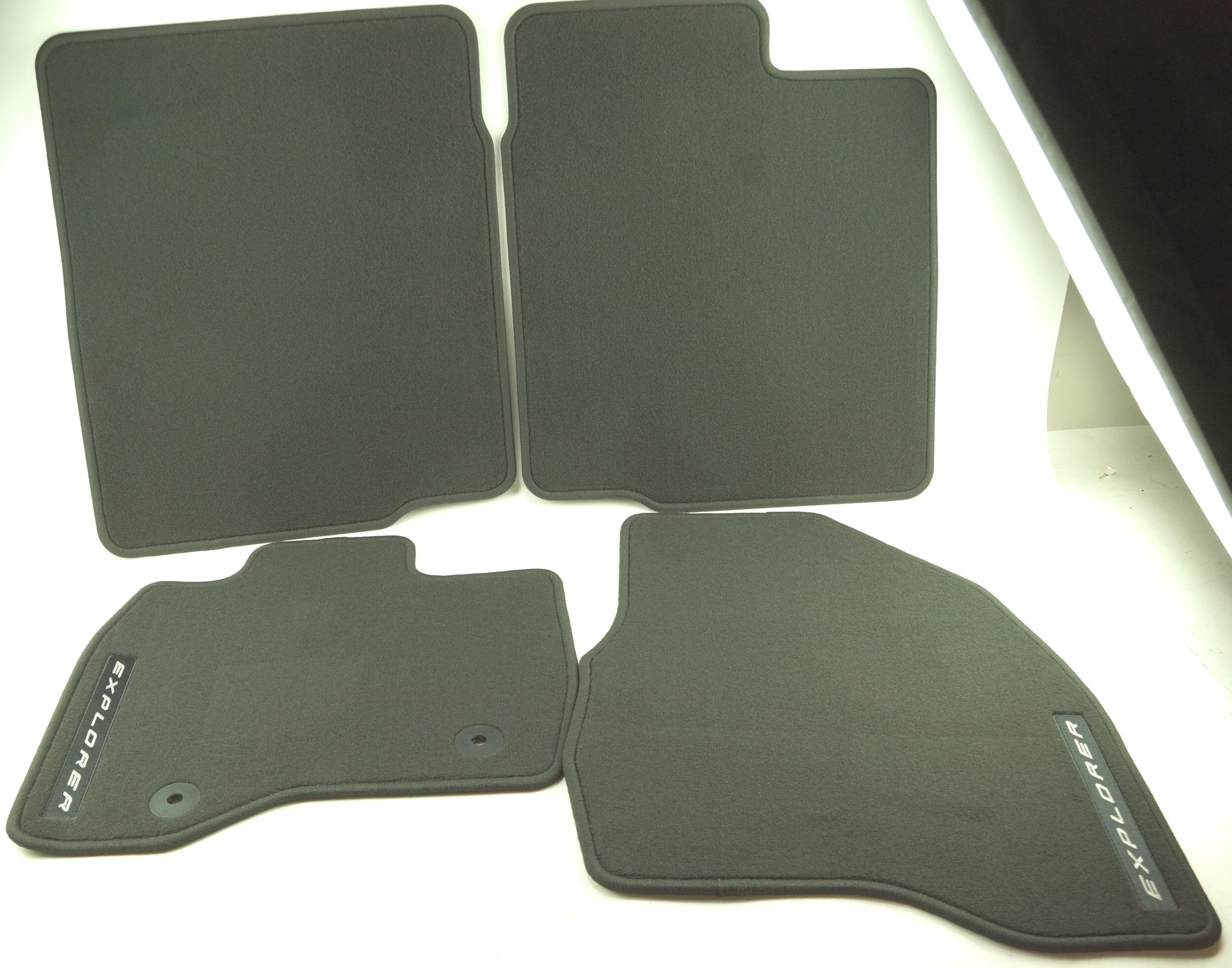 Nylon Carpet Black Coverking Custom Fit Front Floor Mats for Select Dodge RAM Models