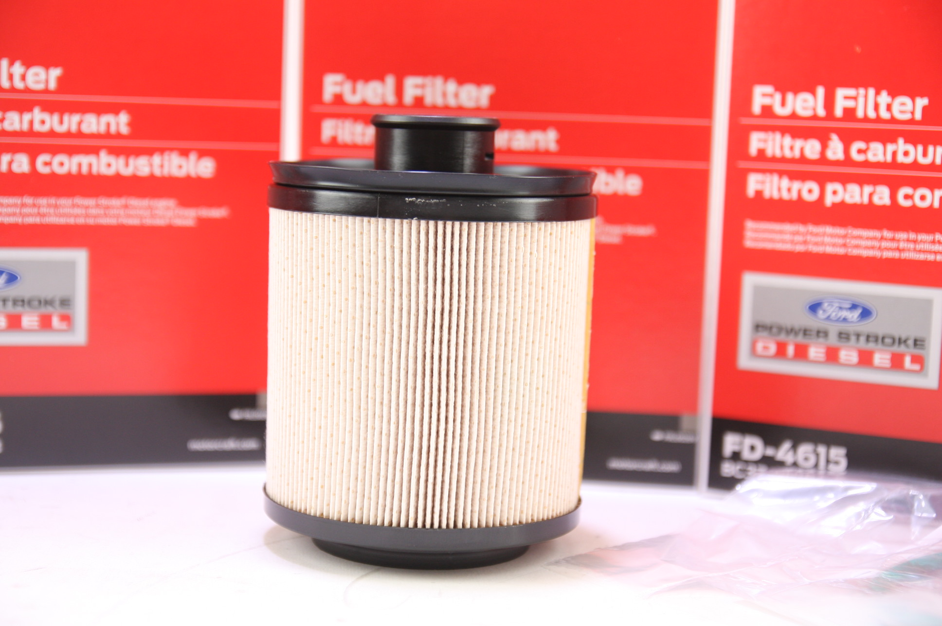 Set of 5 Ford Motorcraft FD4615 Fuel Filter 11-13 6.7L DIESEL BC3Z9N184B NIP - image 9