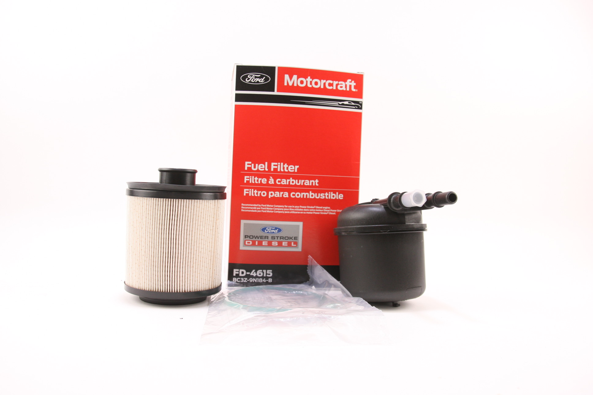 Browse Inventory Ford Fuel Filters New Oem Motorcraft Fd 4615 Filter 11 13 67l Diesel F250 F350 F450 F550