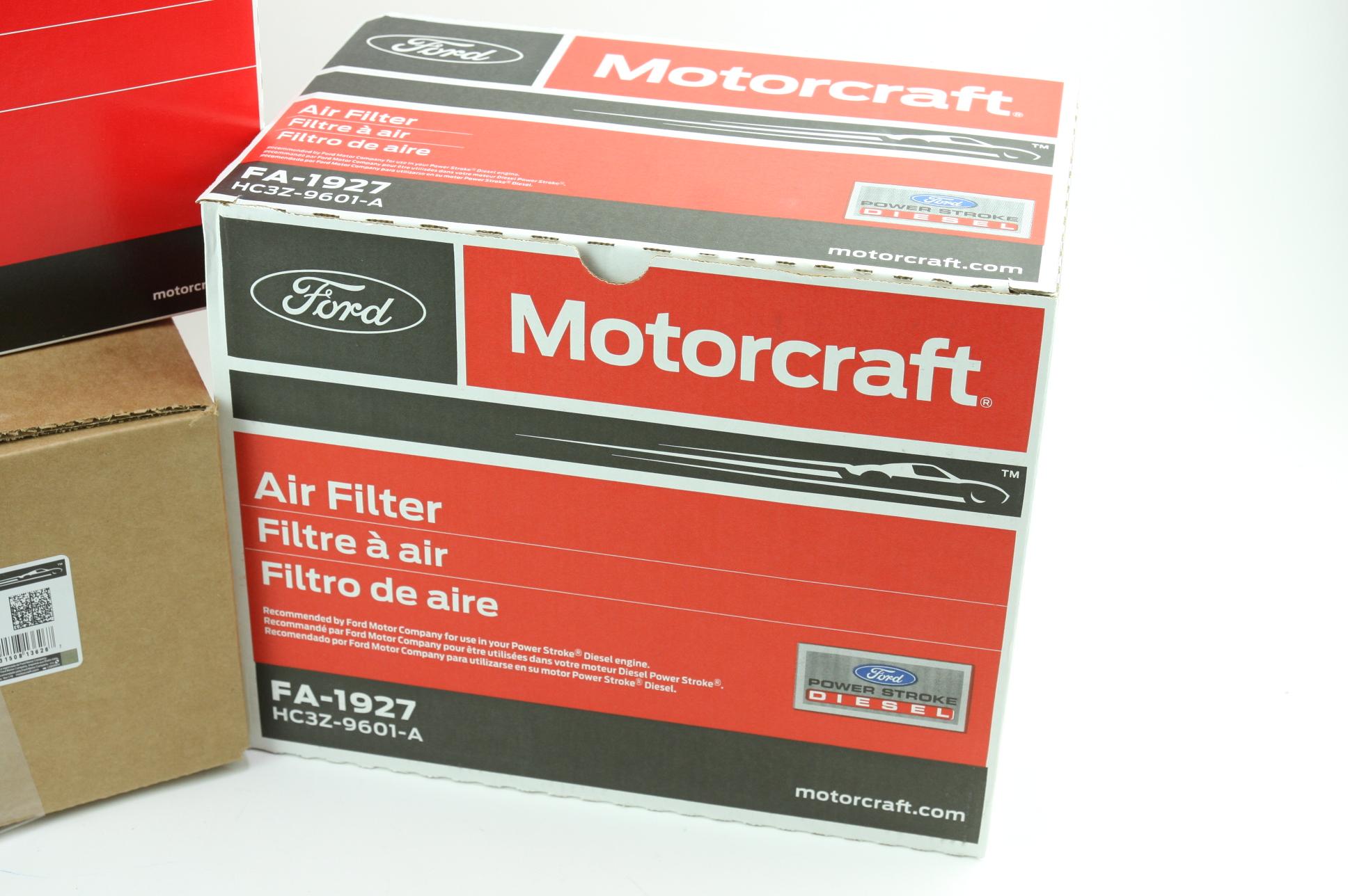 OEM Ford Diesel Engine & Cabin & Fuel Filter Kit Motorcraft FD4625 FA1927 FP79 - image 8