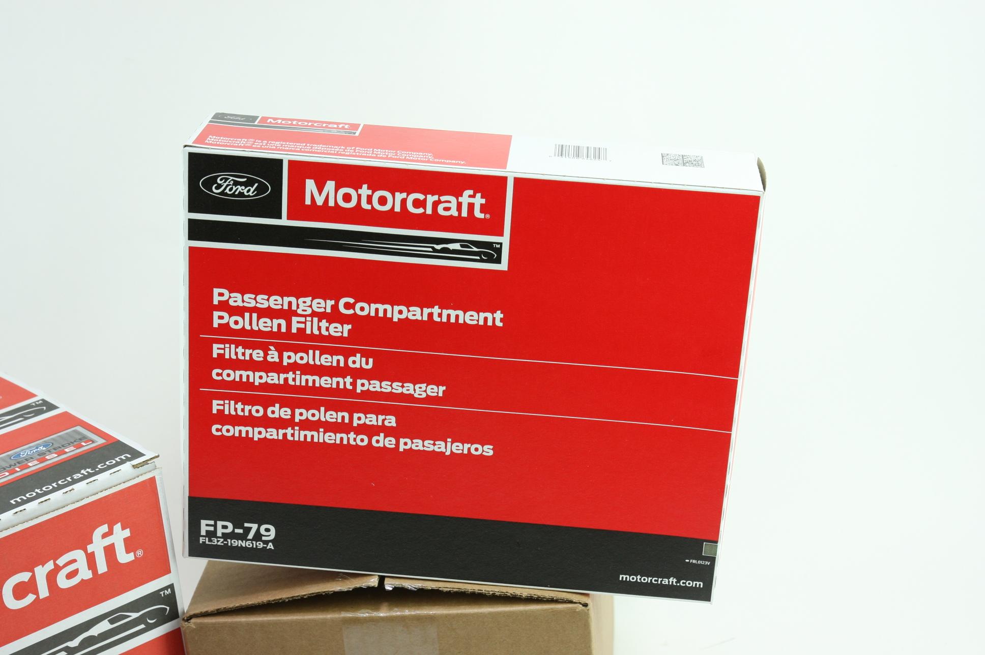 OEM Ford Diesel Engine & Cabin & Fuel Filter Kit Motorcraft FD4625 FA1927 FP79 - image 9