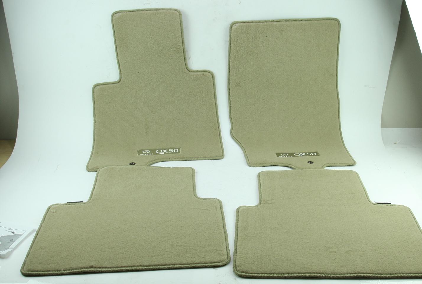 ** Genuine Infiniti Floor Mats Carpeted Wheat Nissan G4900-1UR4J New OEM - image 2