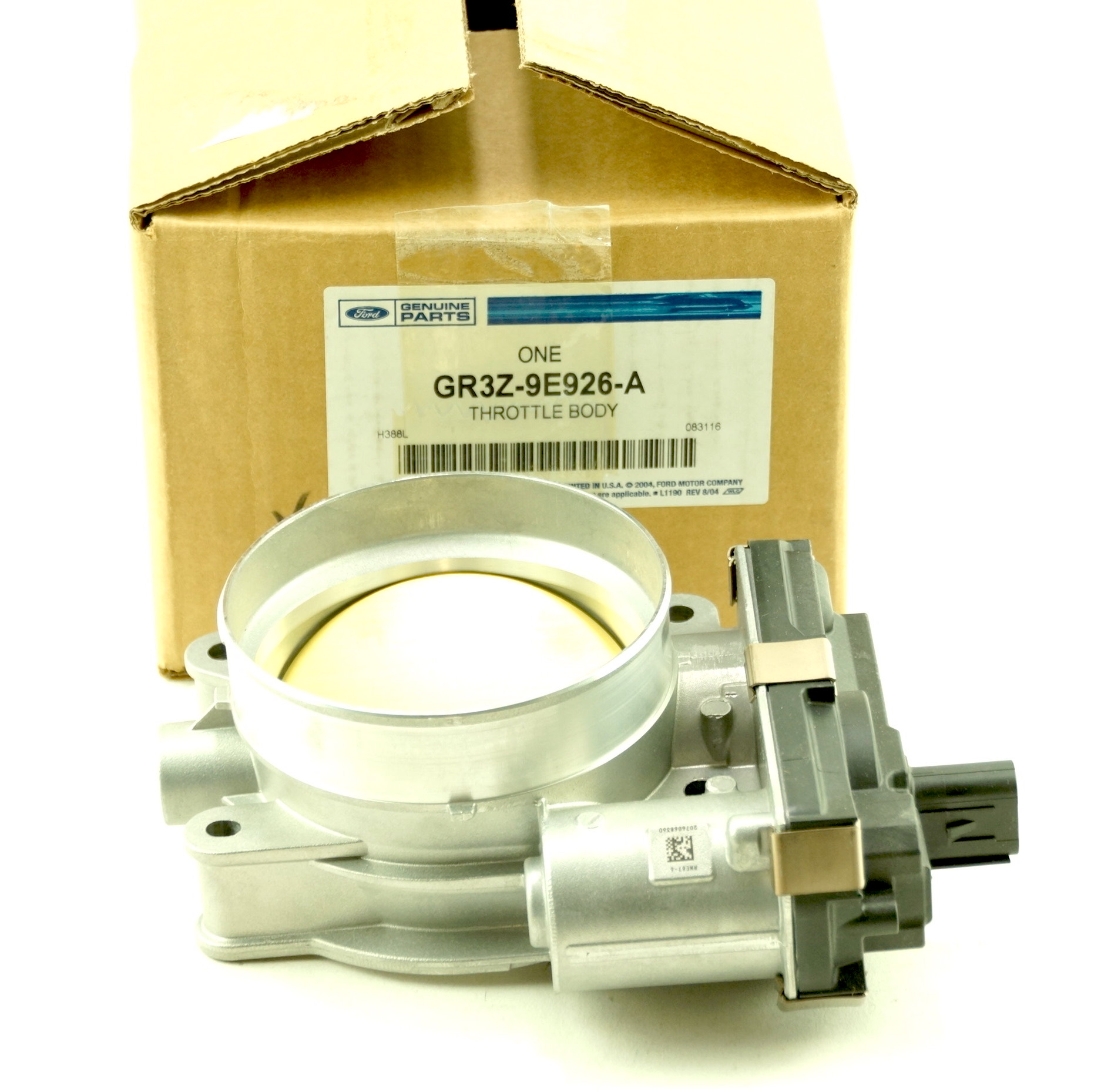 Genuine OEM GR3Z9E926A Ford 15-17 Mustang Throttle Body New Fast Free Shipping - image 1