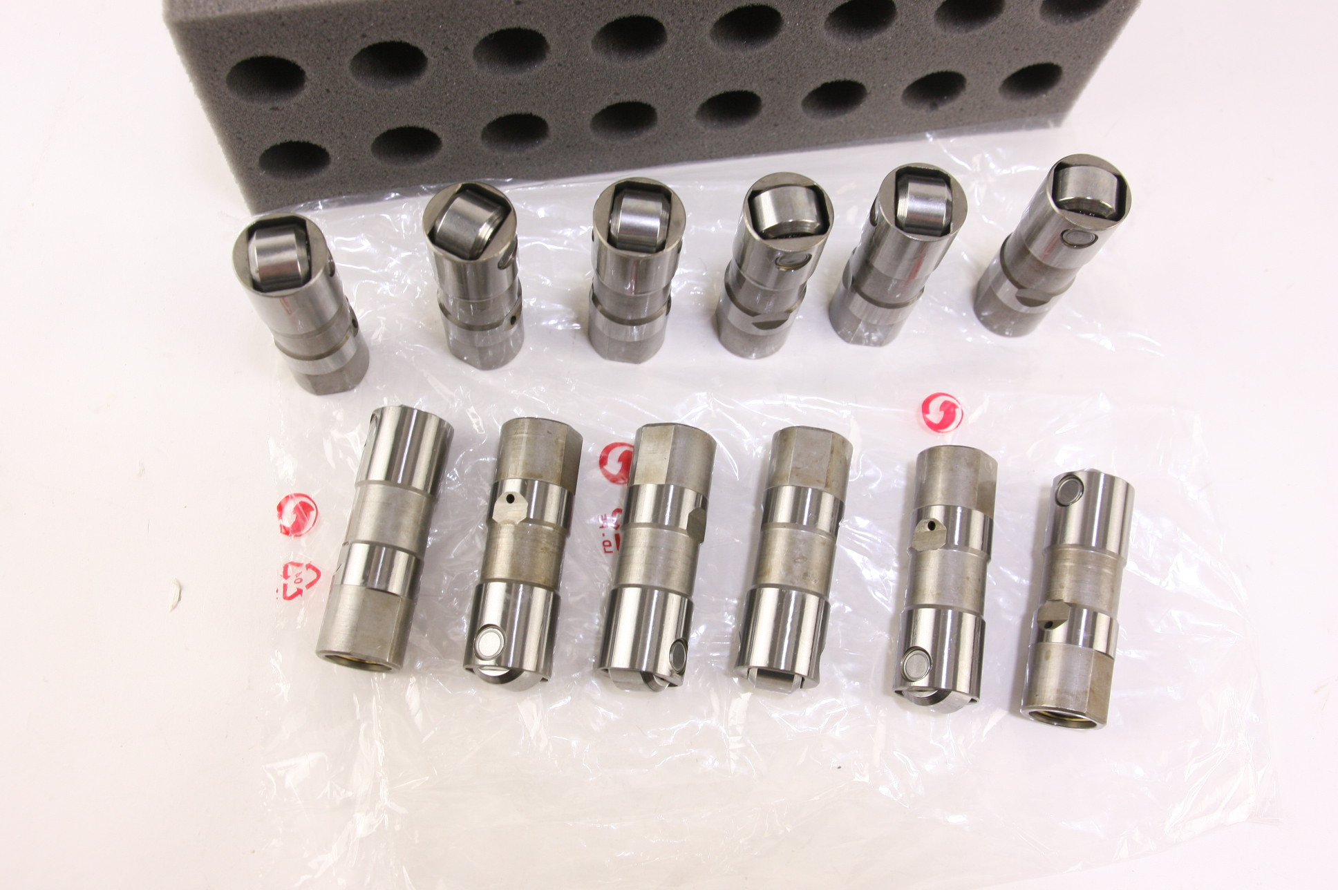 GM OEM HL124 Buick Chevy GMC V6 3800 3.8 4.3 Set of 12 Hydraulic Roller Lifters - image 2