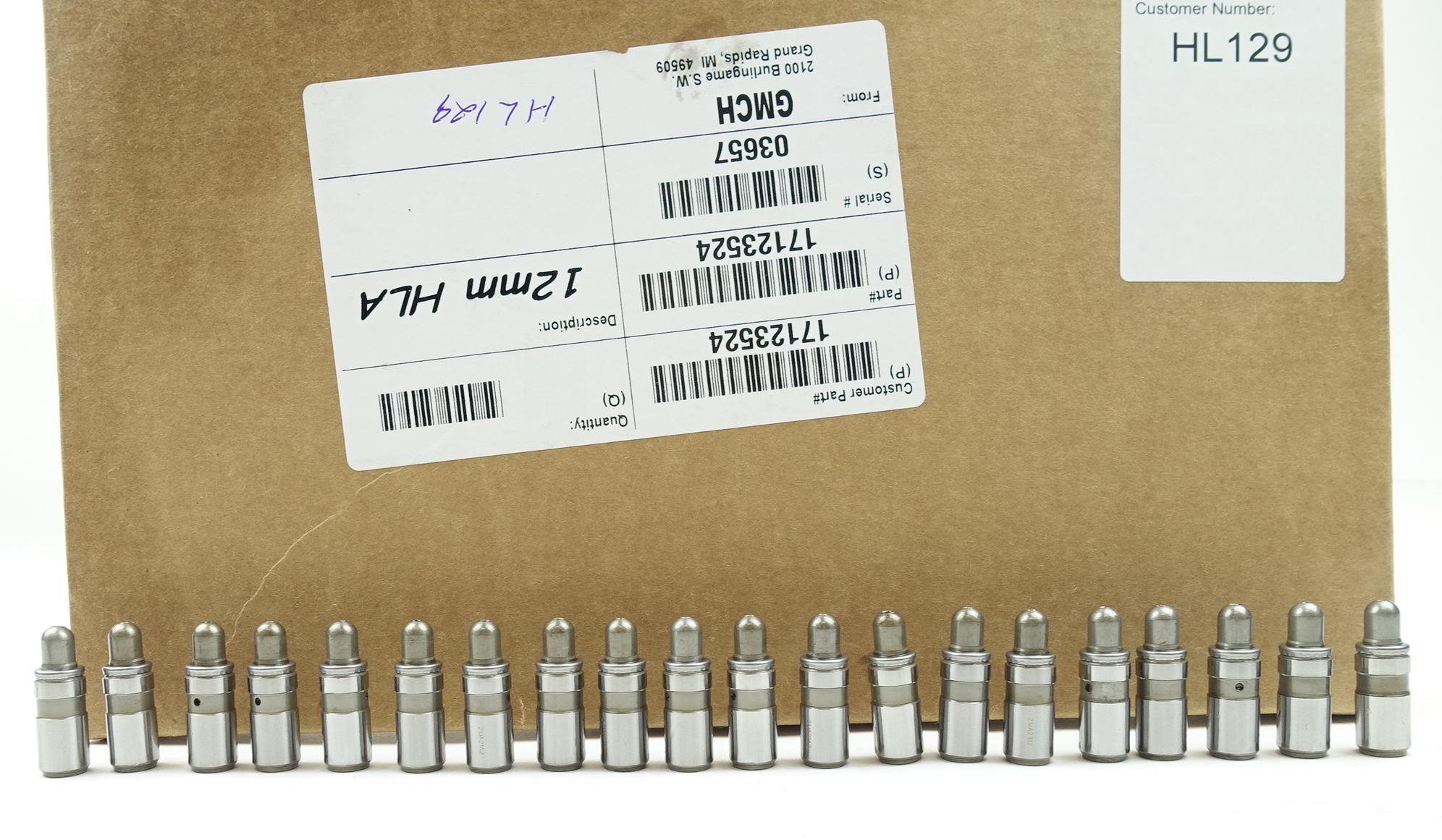 Set of 20 Genuine GM 12572638 Hydraulic Valve Adjuster Lifters HL129 - image 2