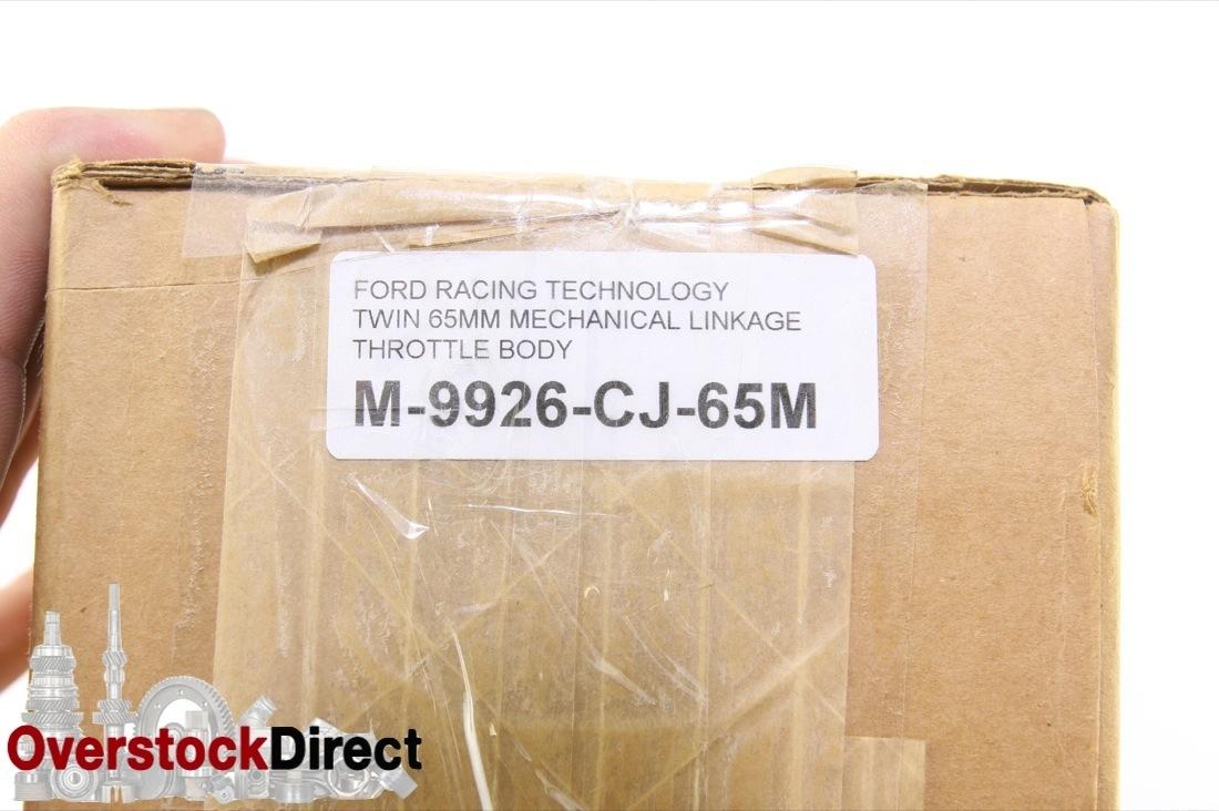 ** New OEM M-9926-CJ65M Ford Racing Cobra Jet Mechanical Throttle Body NIP - image 2