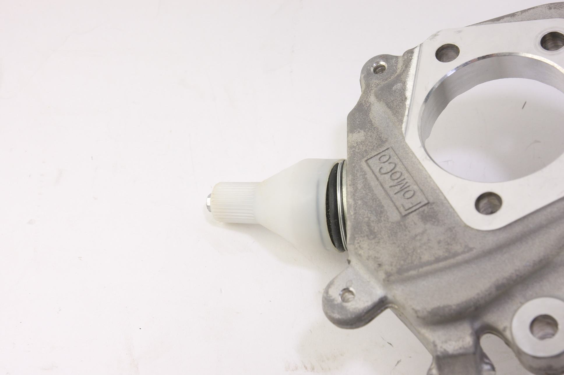 * New OEM Motorcraft MEF70 Steering Knuckle Front Left Ford 4W4Z3K186BA - image 6