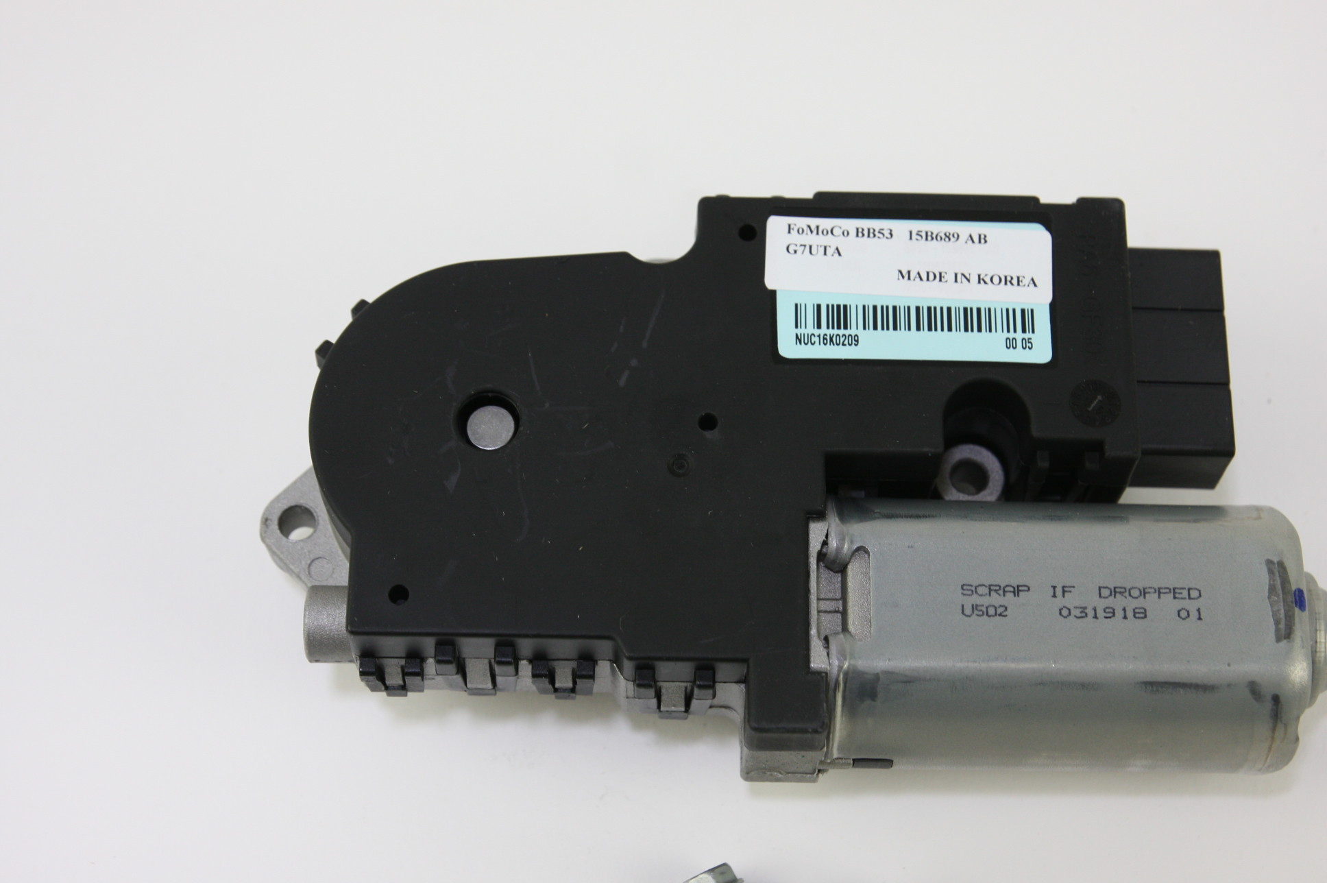 New OEM Motorcraft MM1038 Sliding Roof Motor Sunroof Ford BB5Z15790A NIP - image 4