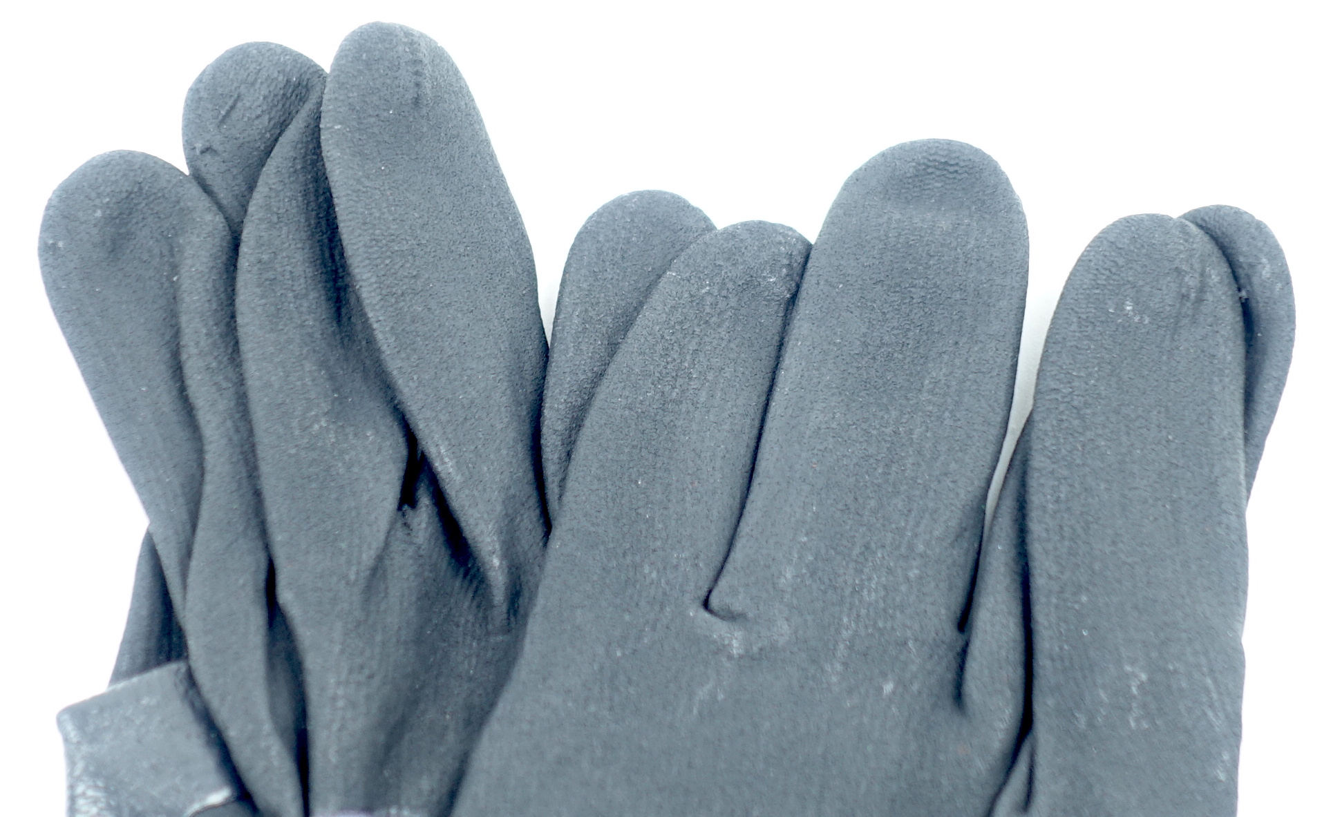 "Oeko-Tex S752-8572-0-9L SFT1 Standard 100 9"" Large Glove Gray/Black 1 Pair - image 3"