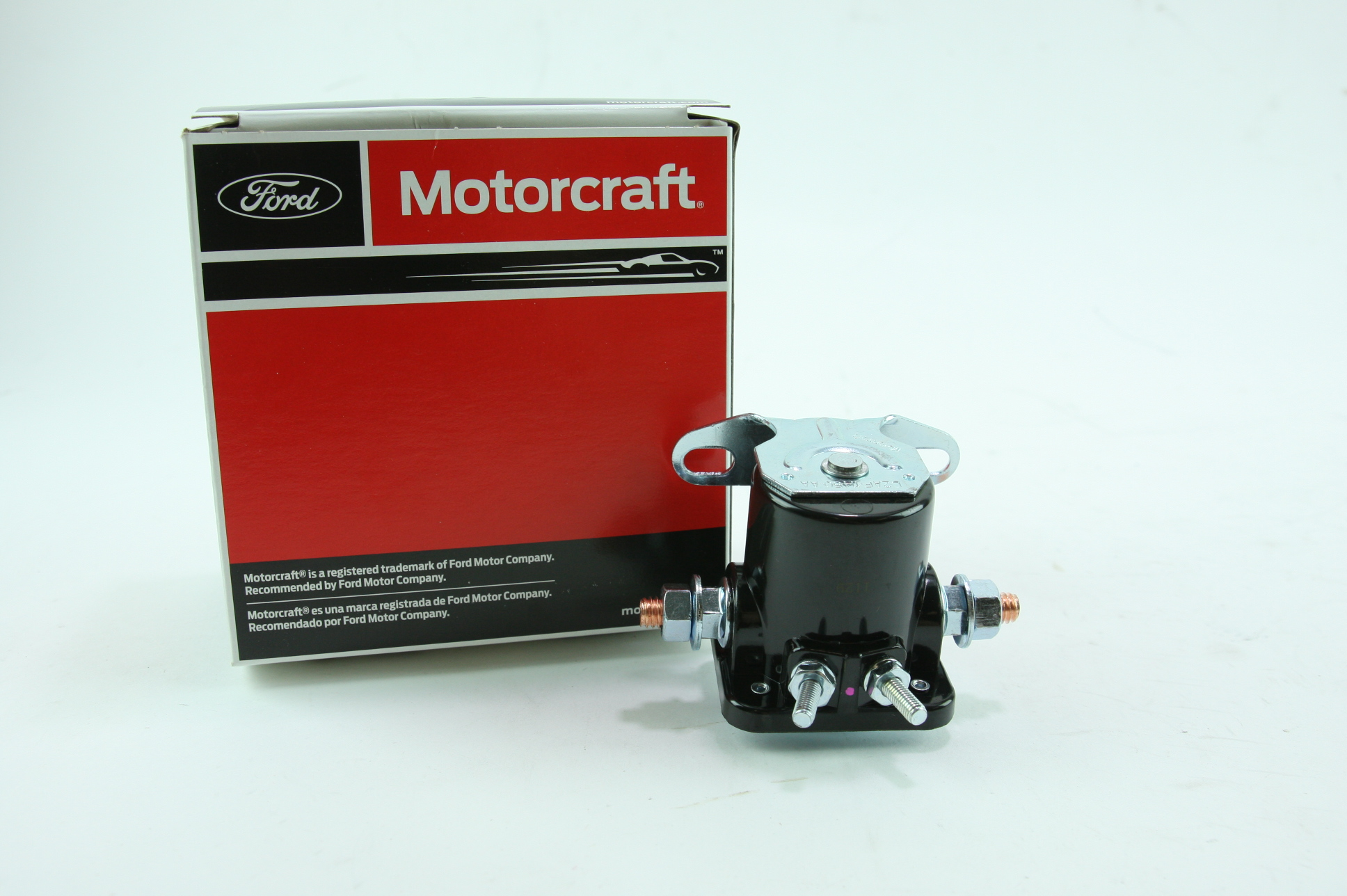 New Genuine OEM Motorcraft SW7663 Ford B6AZ11450B Starter Solenoid Relay - image 1