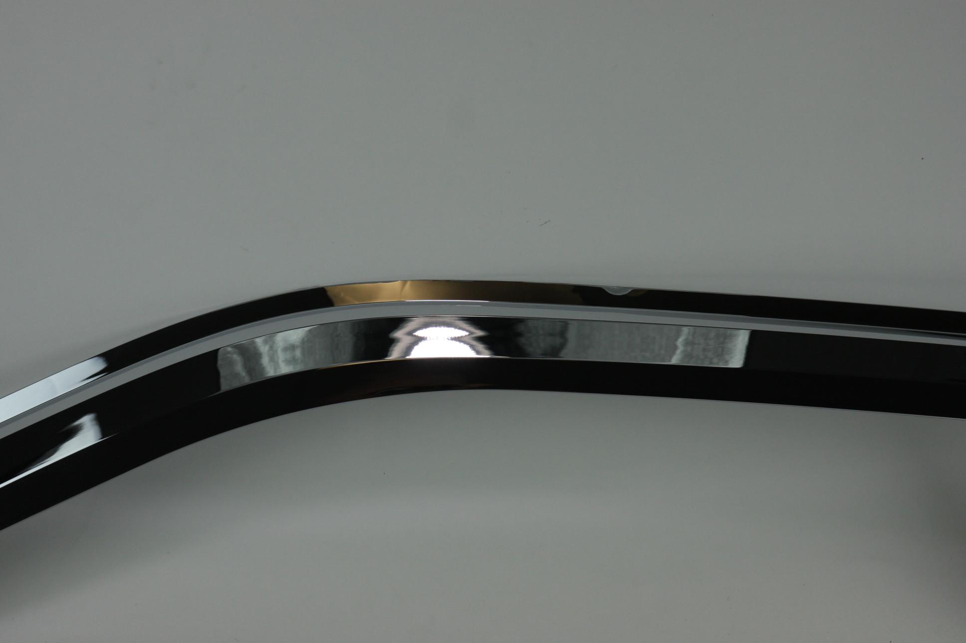 ~ New OEM VFL3Z18246C Genuine Ford Chrome Air Deflectors Side Windows - image 4