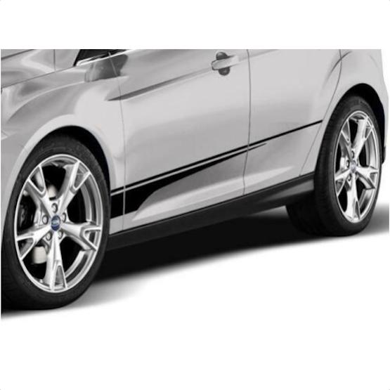 New OEM VGM5Z6320000A Ford Genuine Graphics Kit - Lower Blade Side Stripe - image 1