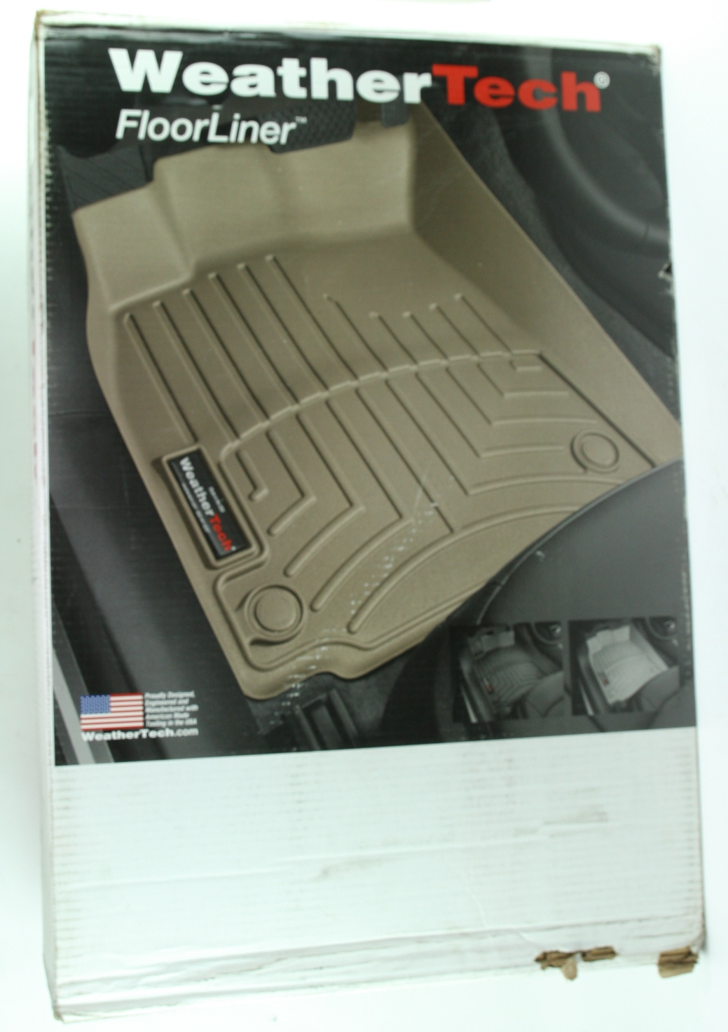 *** New WeatherTech 454251 Front Floor Liner for Challenger Charger 300 AWD Tan - image 1